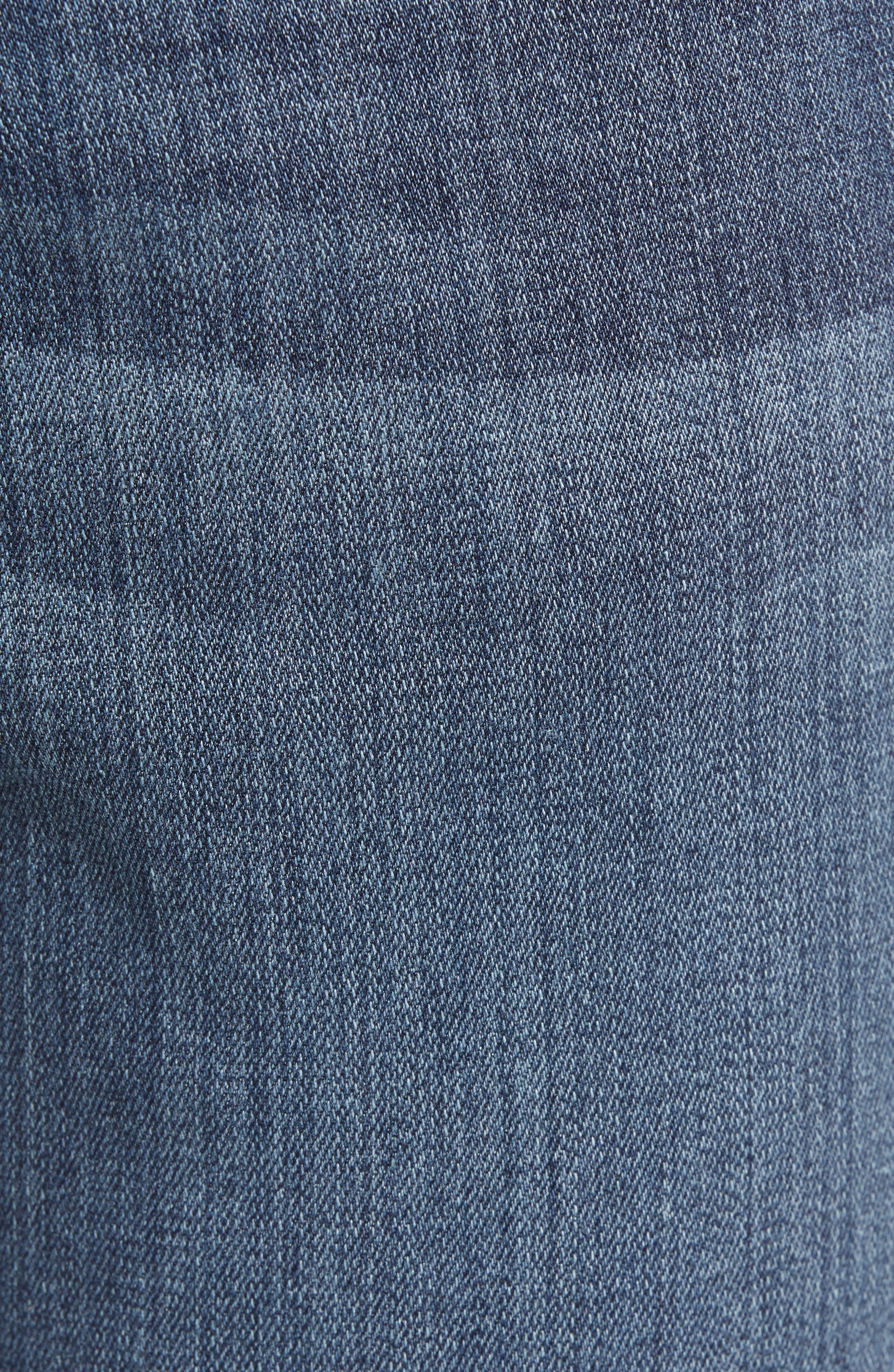 PAIGE, Transcend - Federal Slim Straight Leg Jeans, Alternate thumbnail 7, color, BIRCH