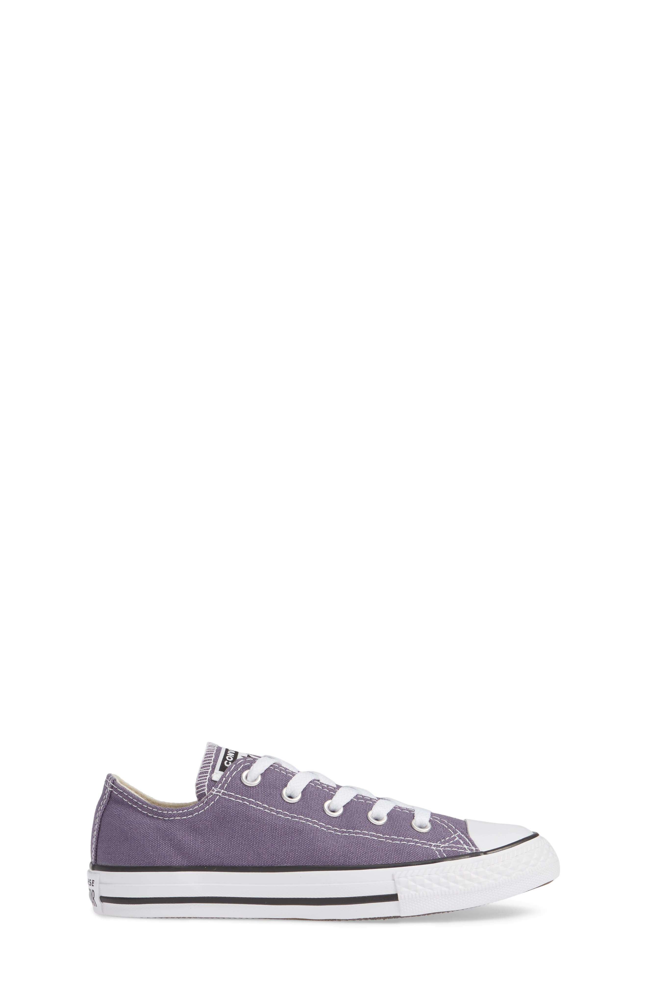 CONVERSE, Chuck Taylor<sup>®</sup> Sneaker, Alternate thumbnail 3, color, MOODY PURPLE/ NATURAL IVORY