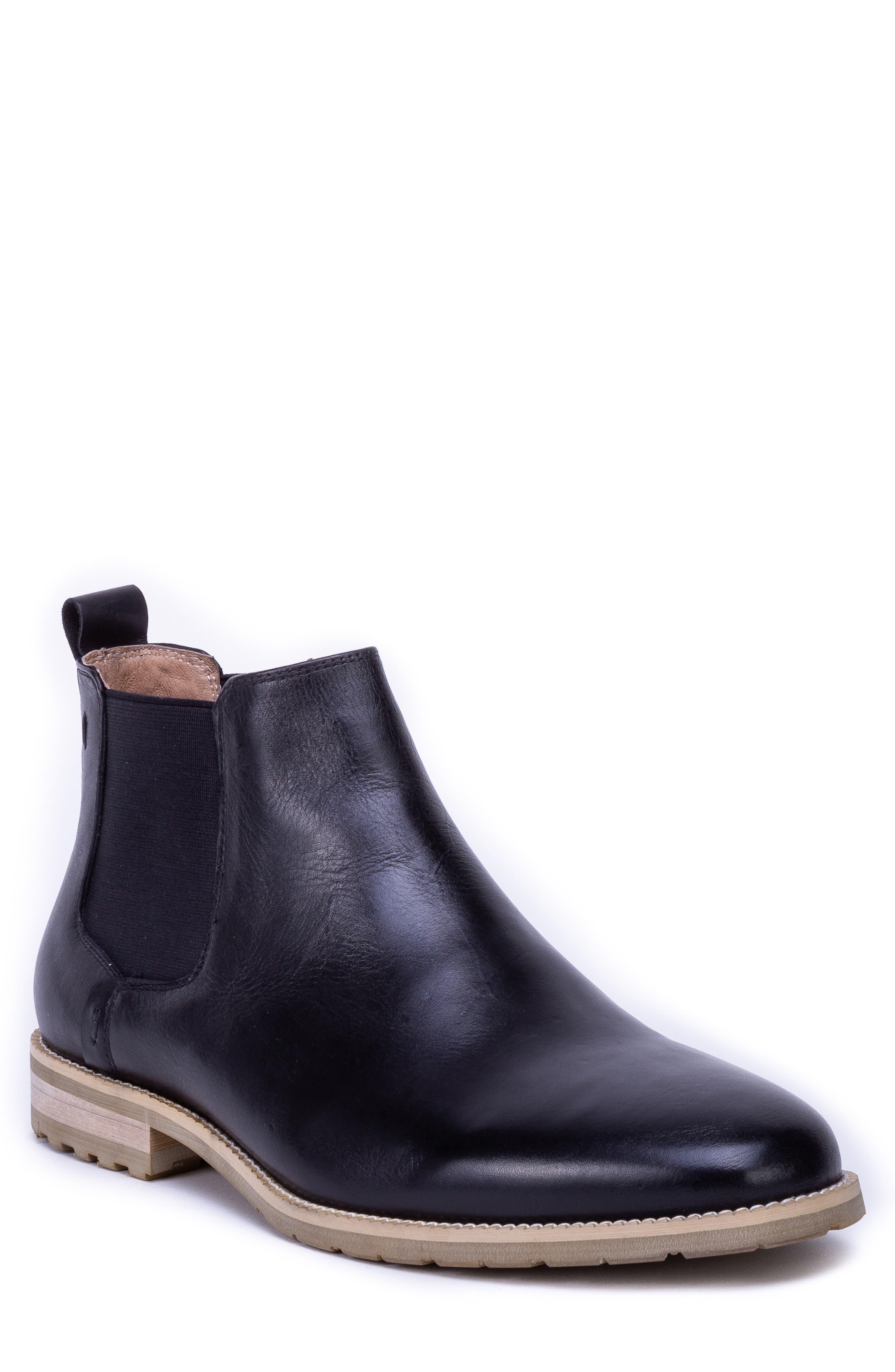 Zanzara Woody Chelsea Boot- Black