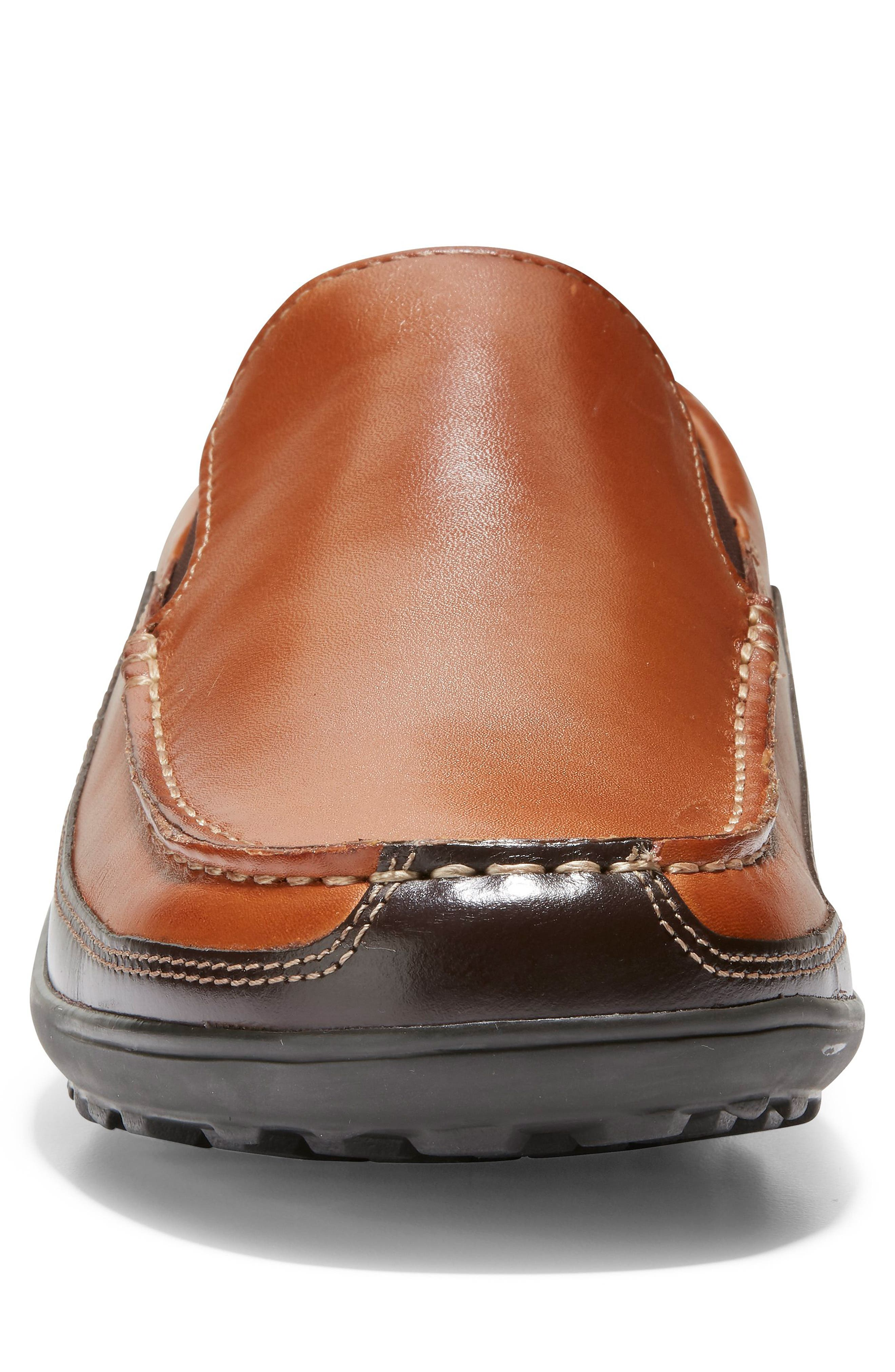 COLE HAAN, 'Tucker Venetian' Loafer, Alternate thumbnail 5, color, TAN