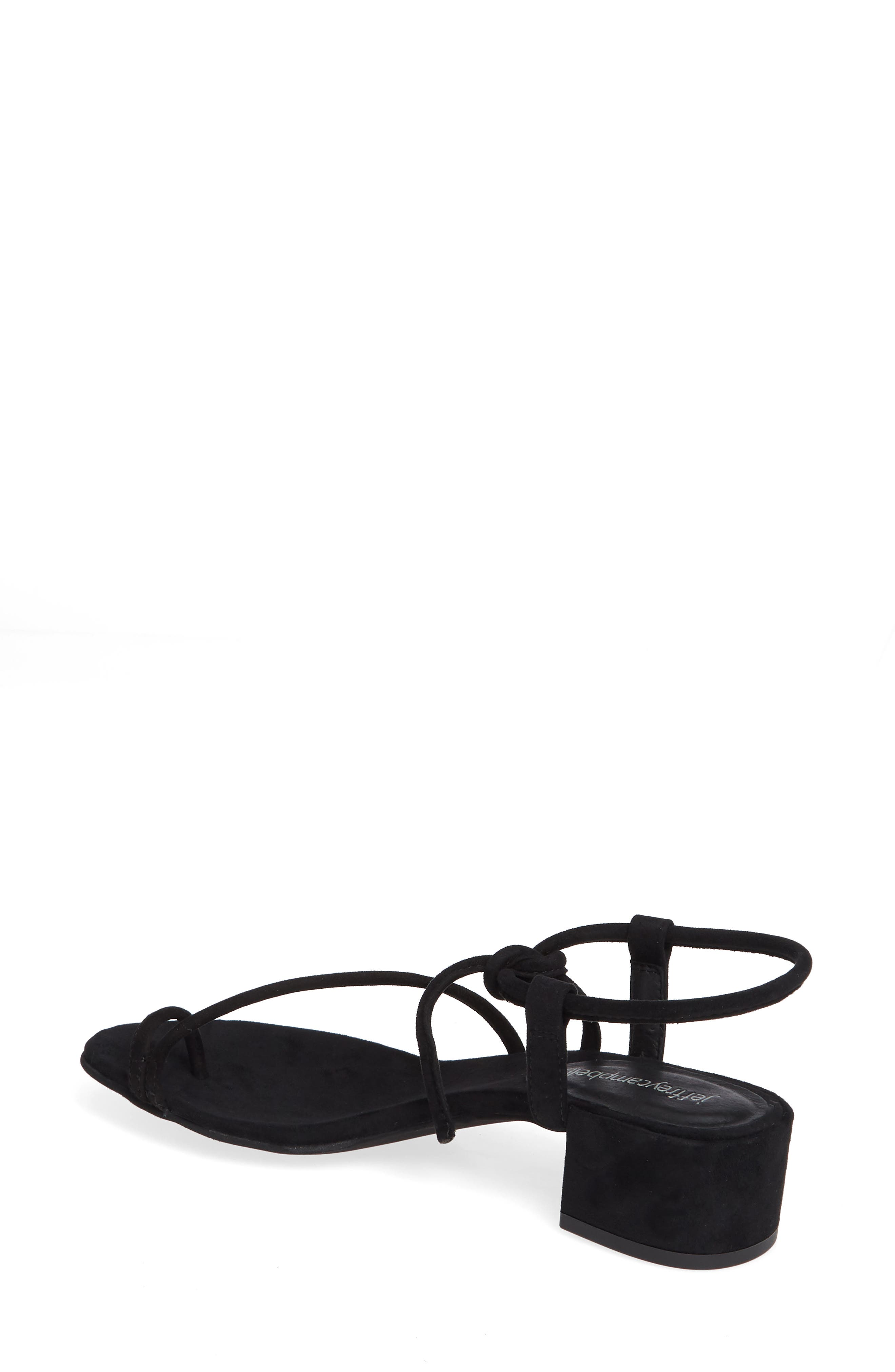 JEFFREY CAMPBELL, Strappy Sandal, Alternate thumbnail 2, color, 005