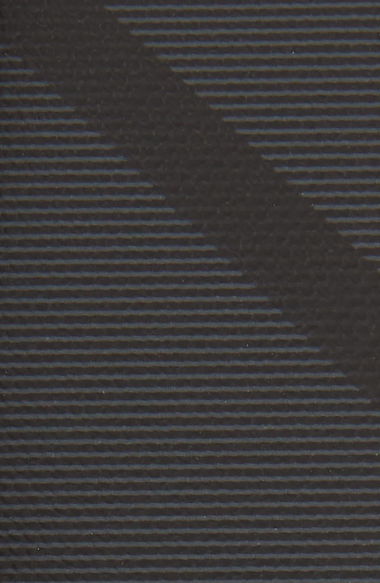 BURBERRY, Clark Reversible Belt, Alternate thumbnail 3, color, CHARCOAL/ BLACK