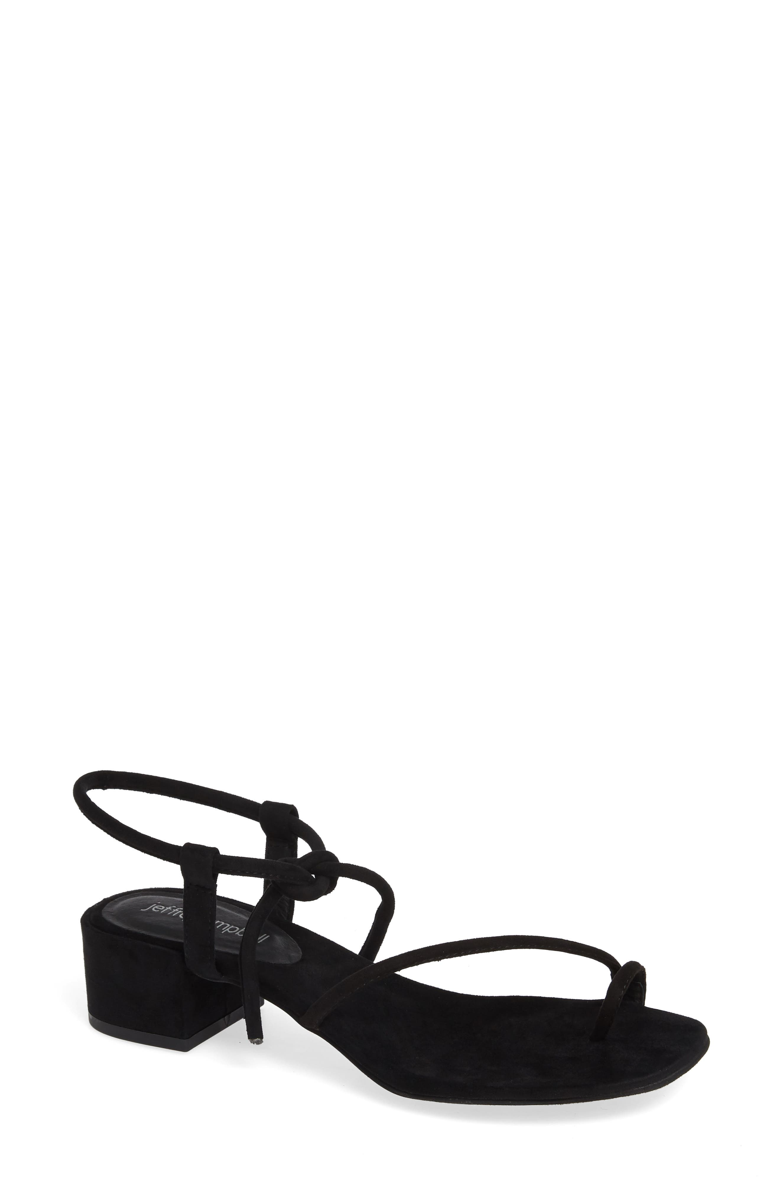 JEFFREY CAMPBELL, Strappy Sandal, Main thumbnail 1, color, 005