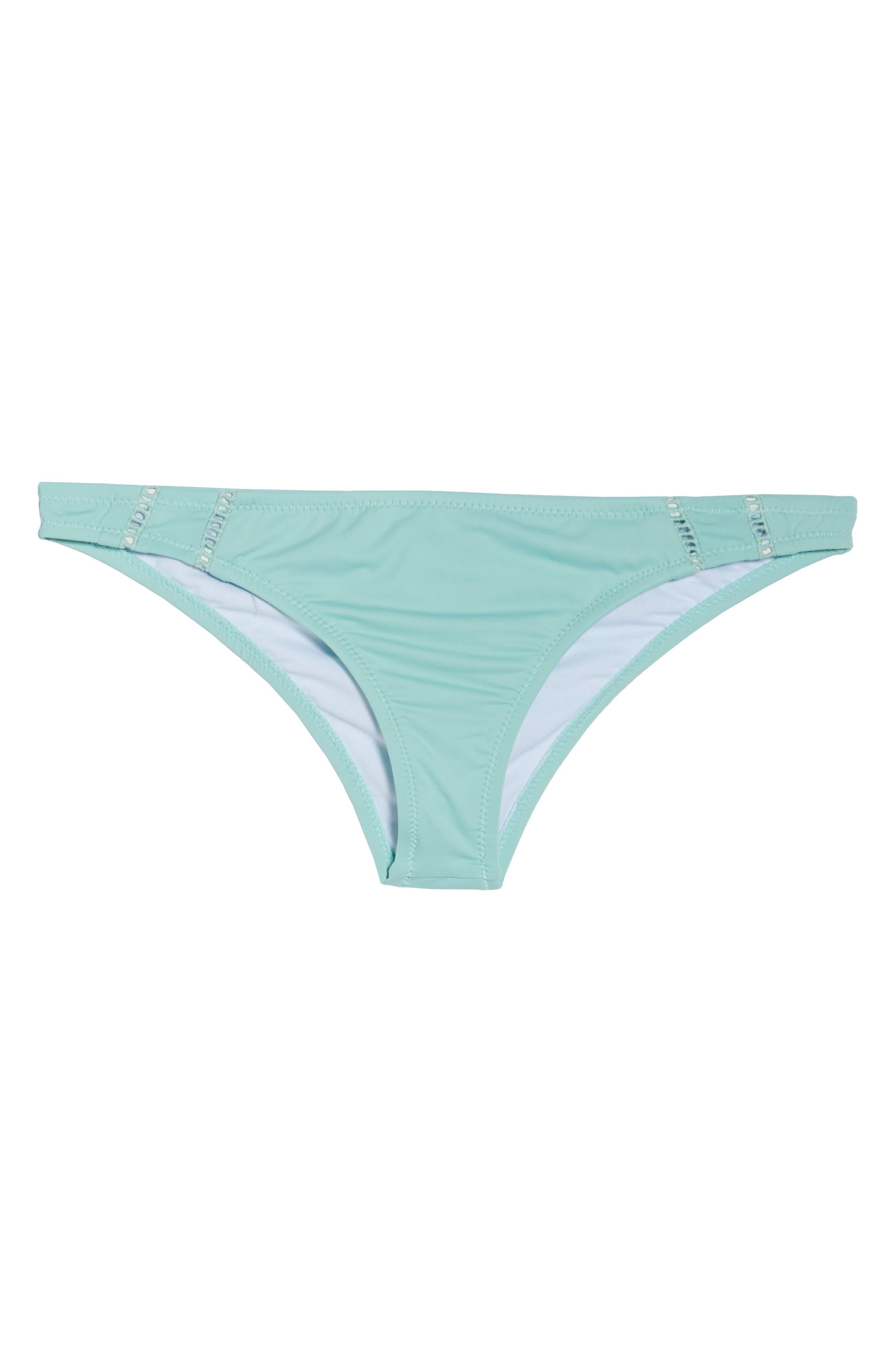 RHYTHM, My Cheeky Bikini Bottoms, Alternate thumbnail 7, color, POOL