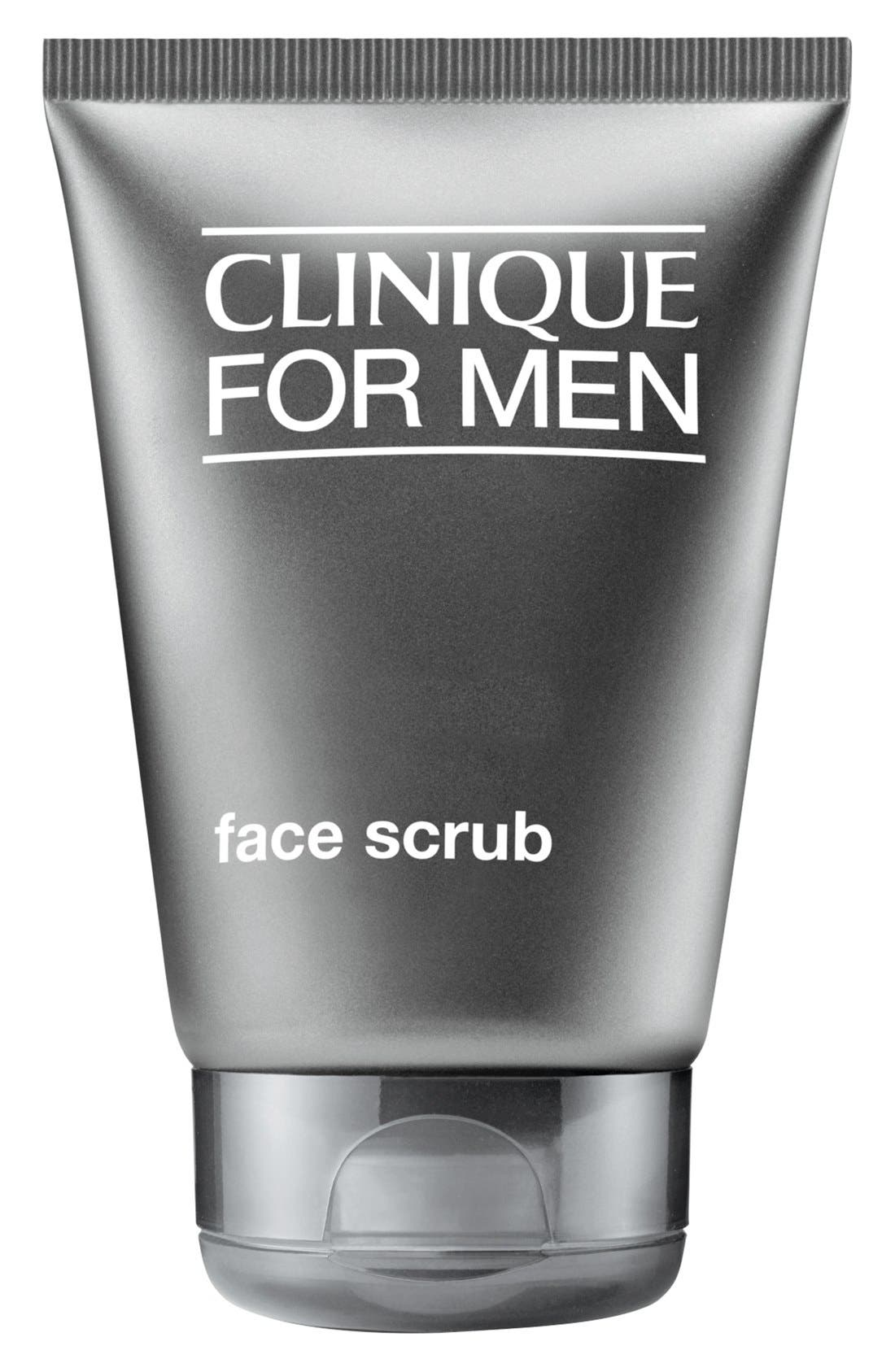 CLINIQUE, for Men Face Scrub, Main thumbnail 1, color, NO COLOR