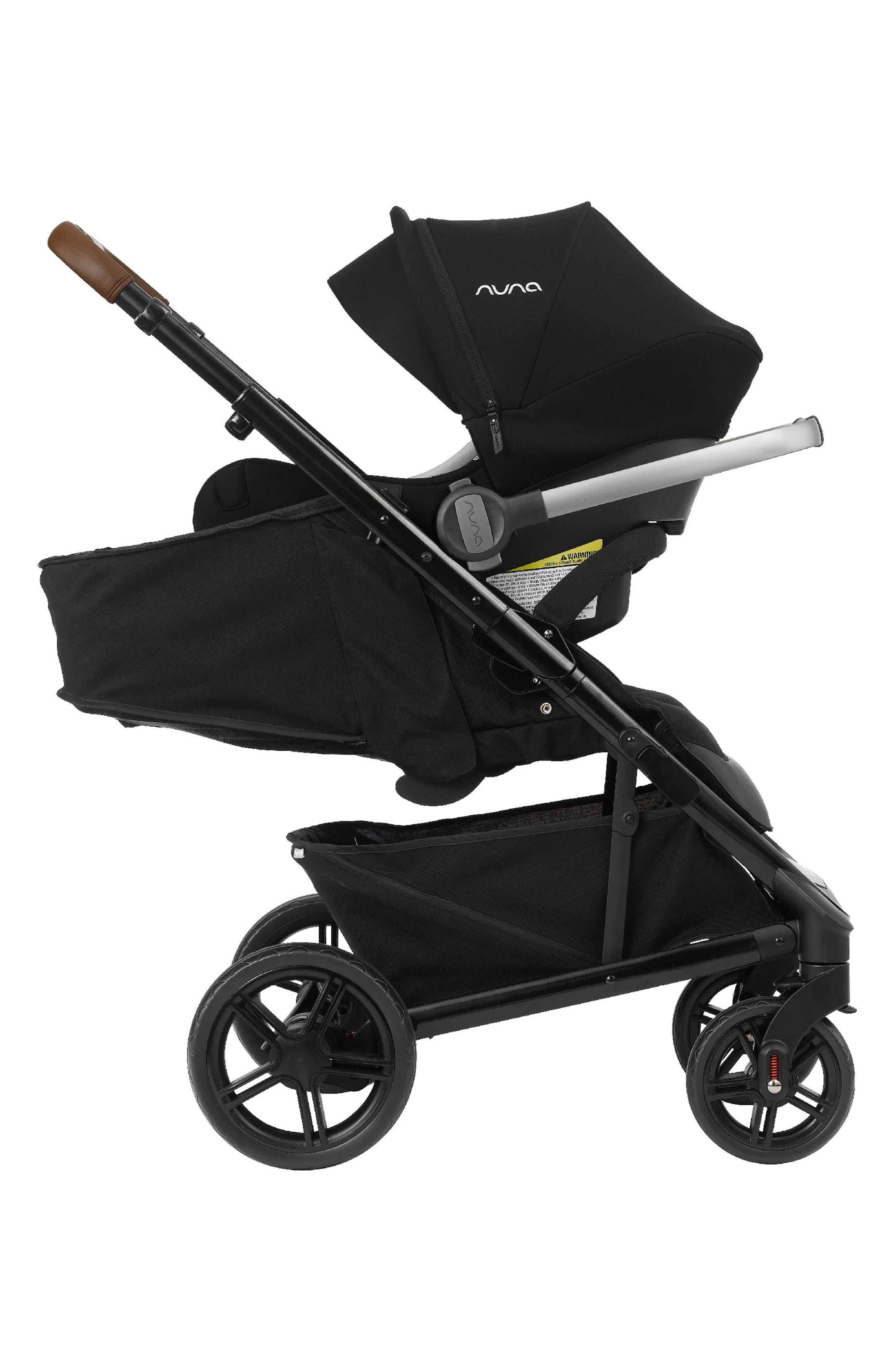 NUNA, 2019 TAVO<sup>™</sup> Stroller & PIPA<sup>™</sup> Lite LX Car Seat Travel System, Alternate thumbnail 6, color, CAVIAR