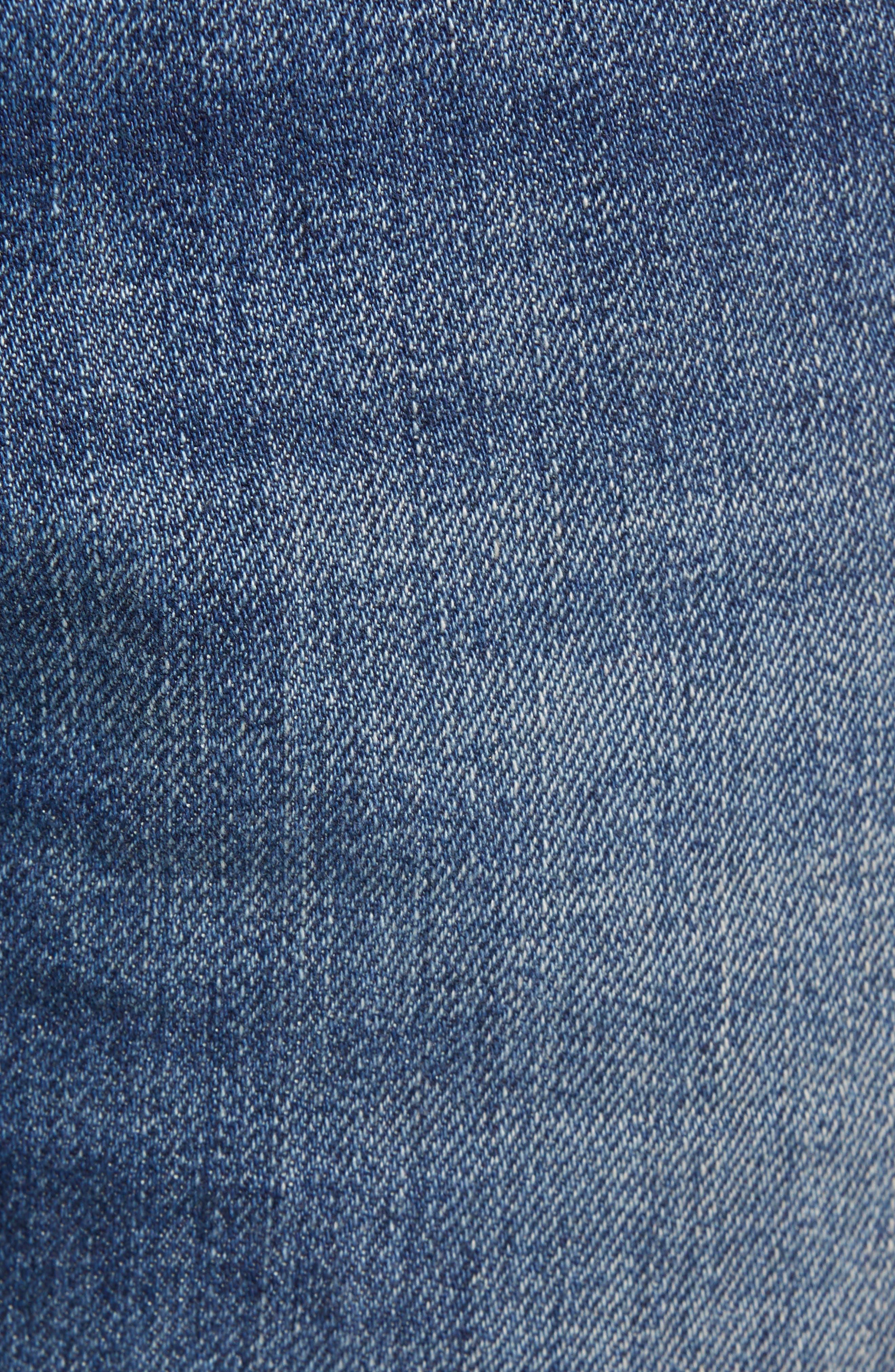 DIESEL<SUP>®</SUP>, Zatiny Bootcut Jeans, Alternate thumbnail 6, color, DENIM