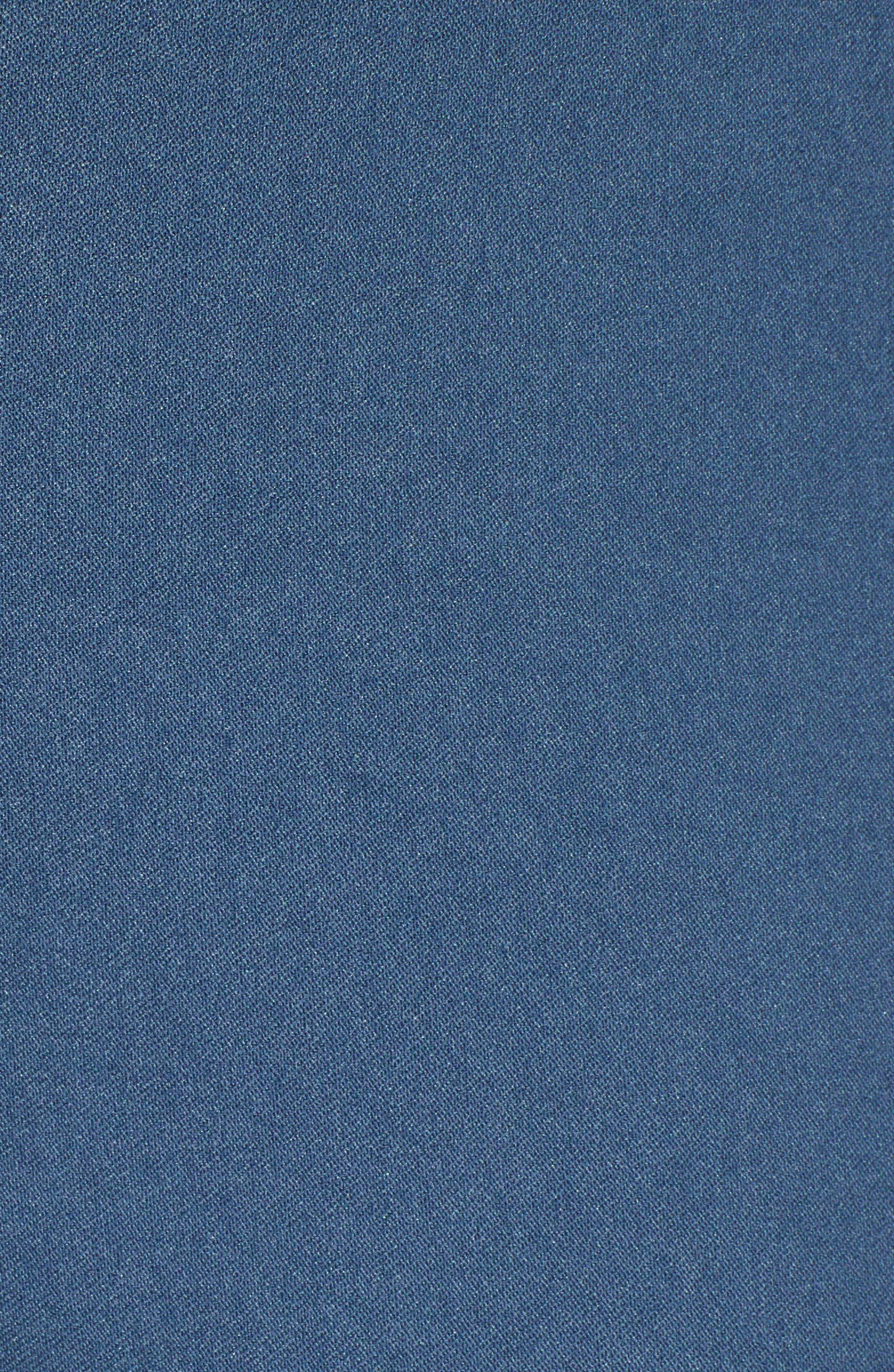NIC+ZOE, Wonderstretch Straight Leg Pants, Alternate thumbnail 6, color, INDIGO SEA