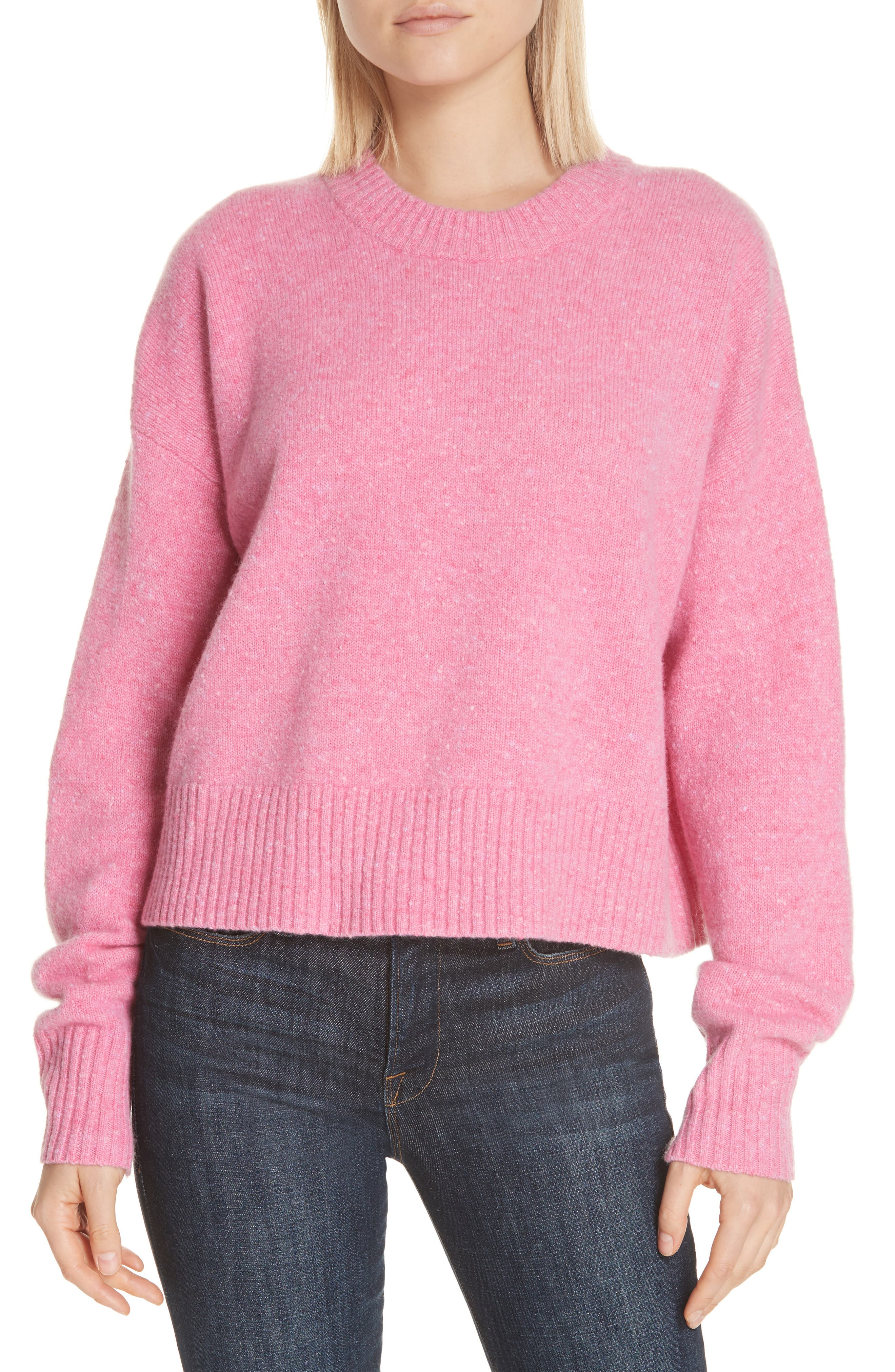 A.l.c. Emmeline Lambswool & Cashmere Blend Sweater, Pink