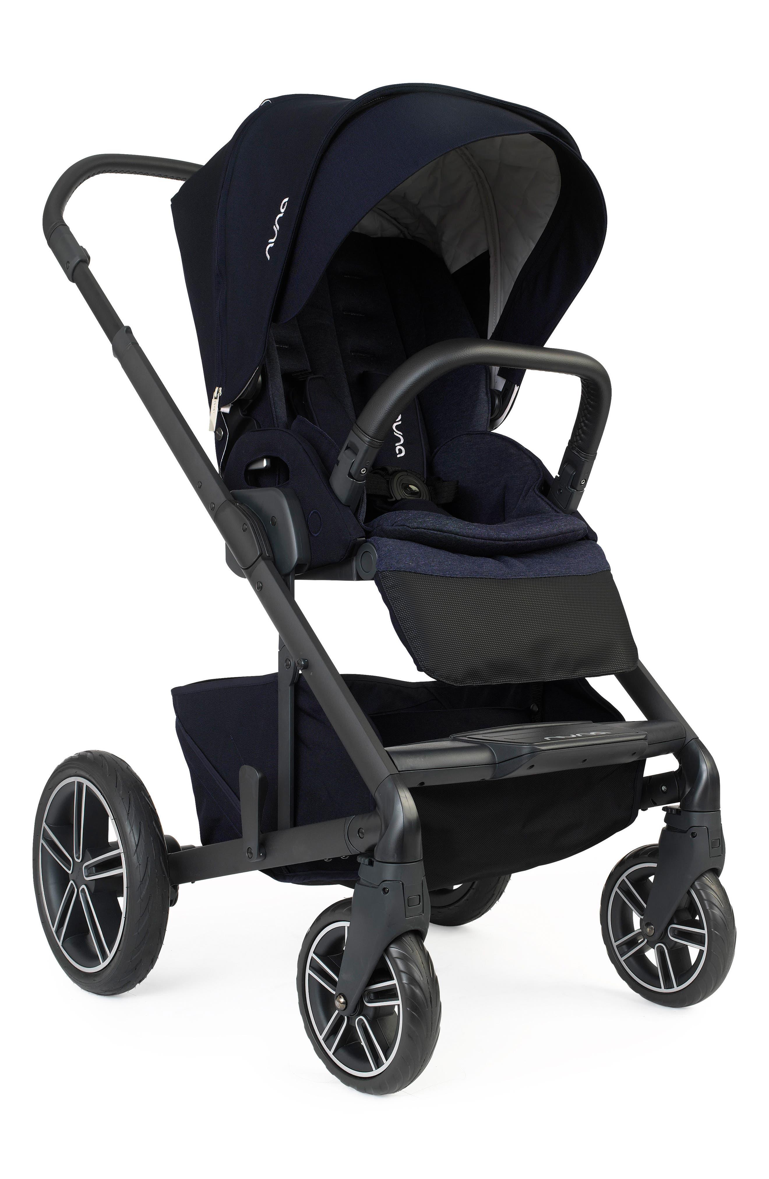 NUNA MIXX2<sup>™</sup> Three Mode Stroller with All Terrain Tires, Main, color, INDIGO
