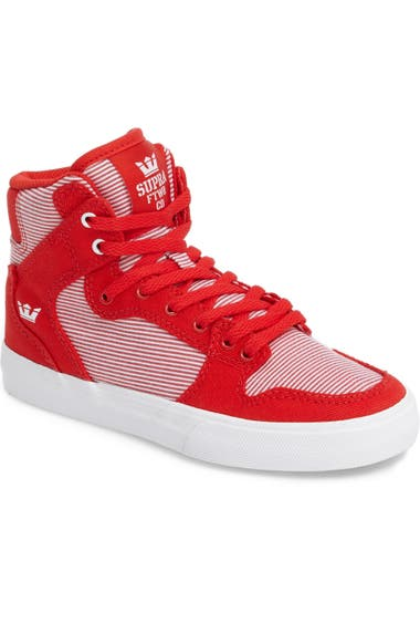 6ae2936017 Supra Vaider High Top Sneaker (Toddler, Little Kid & Big Kid ...