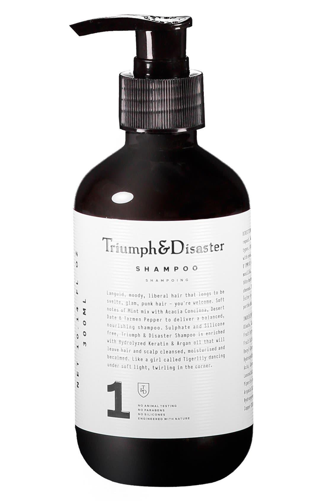 TRIUMPH & DISASTER, Shampoo, Main thumbnail 1, color, NO COLOR