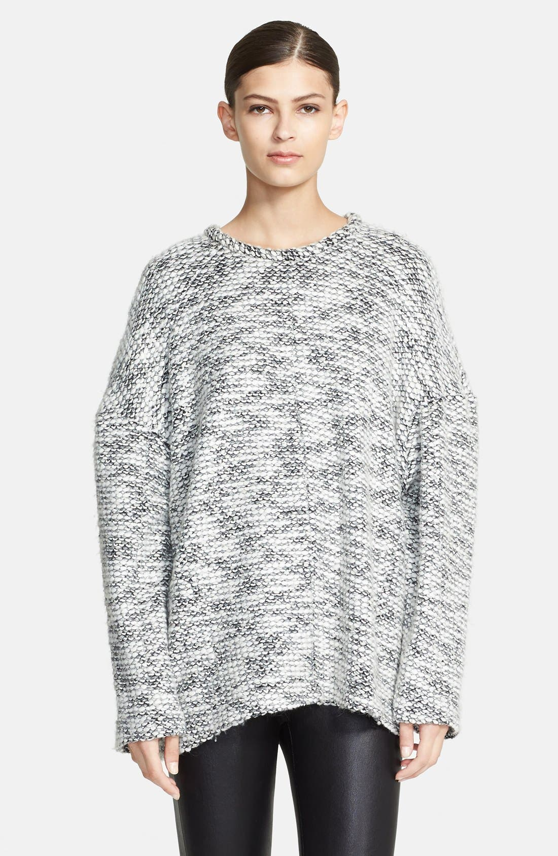 HELMUT LANG Chunky Knit Sweatshirt, Main, color, 067