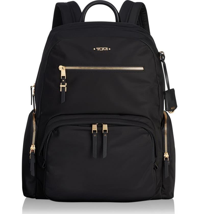 Tumi Backpacks VOYAGER CARSON NYLON BACKPACK - BLACK