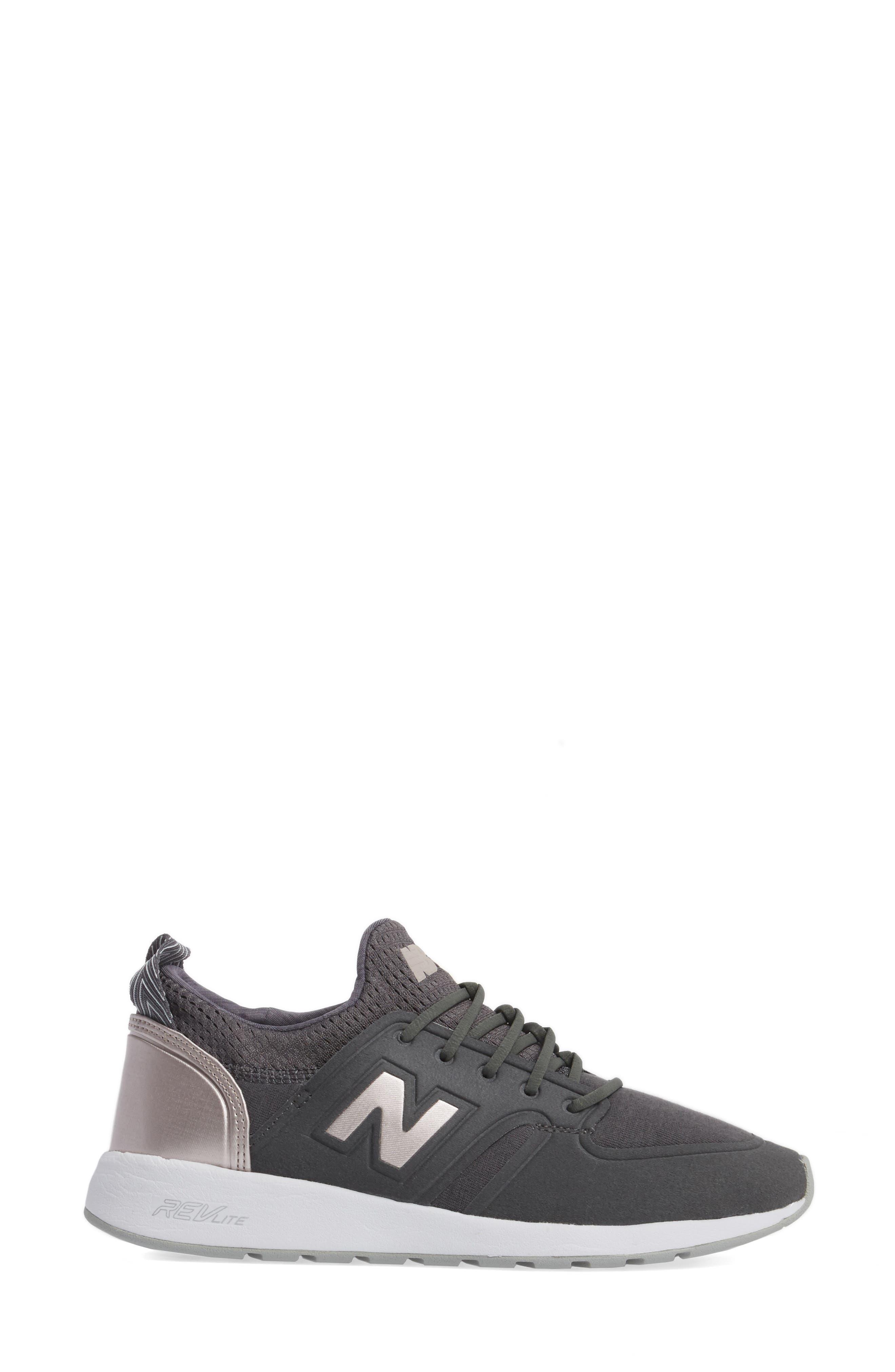 NEW BALANCE, '420' Sneaker, Alternate thumbnail 3, color, 021