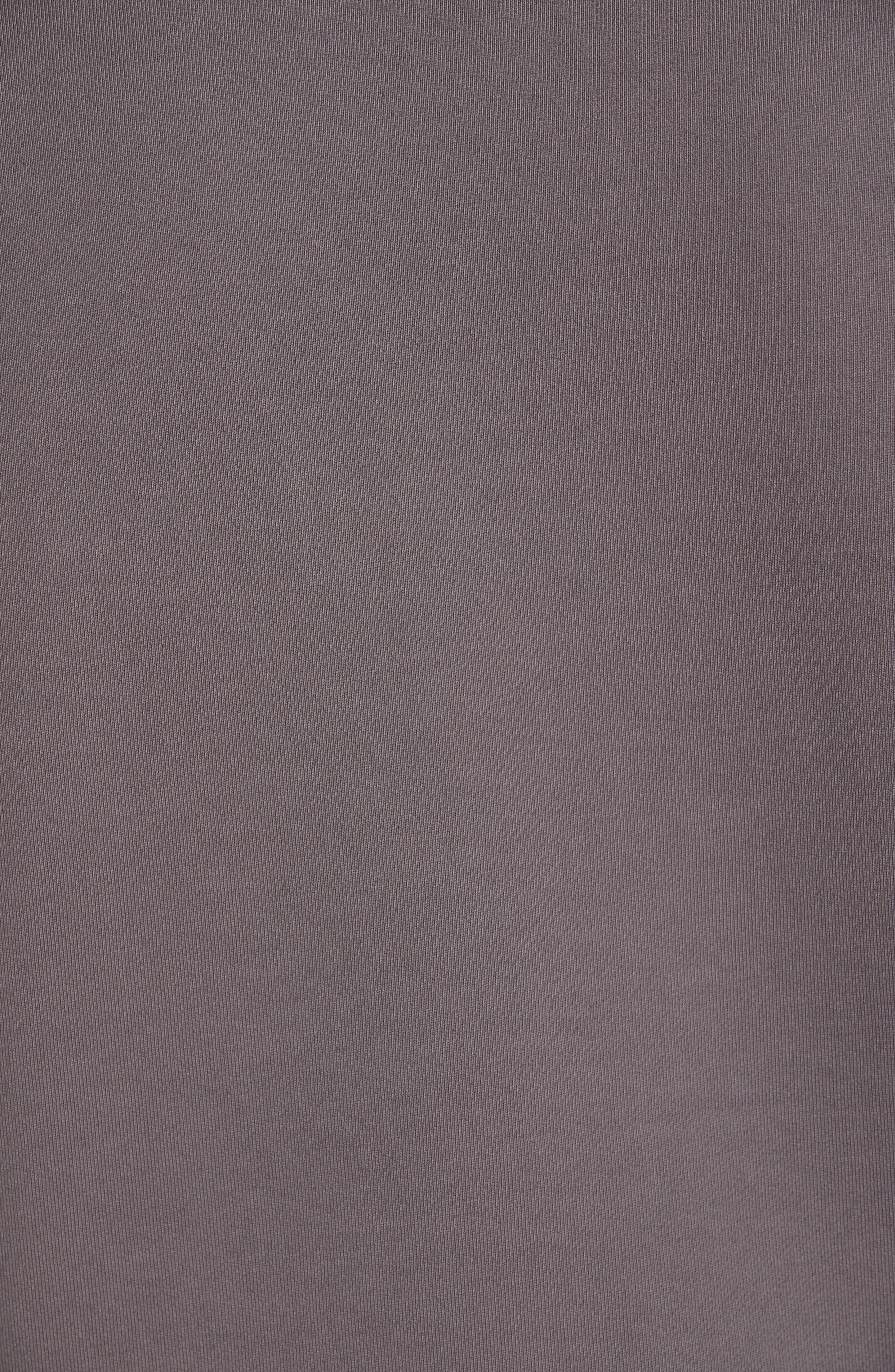 STONE ISLAND, Pocket Sweatshirt, Alternate thumbnail 5, color, BLUE