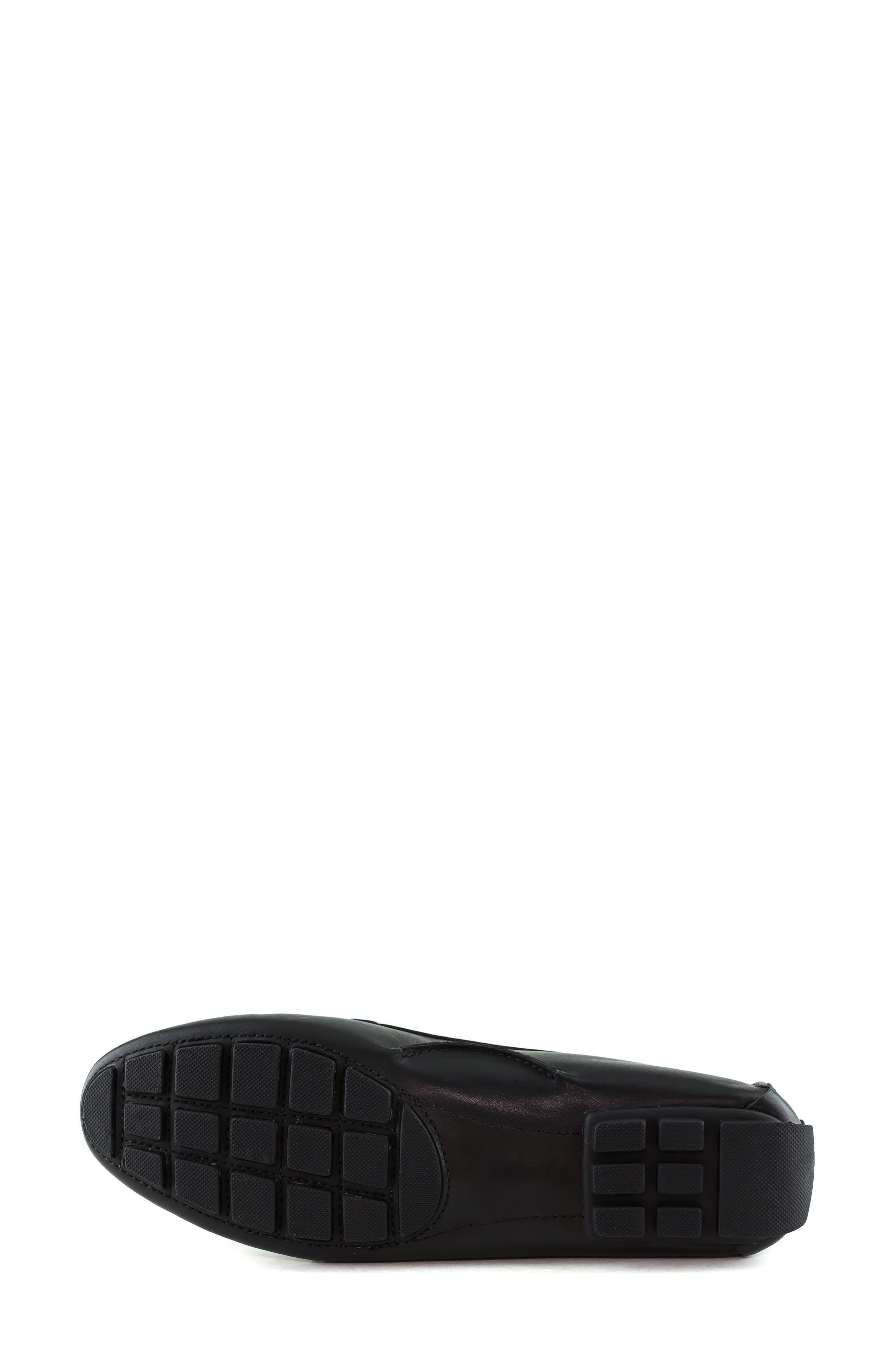 MARC JOSEPH NEW YORK, South Street Loafer, Alternate thumbnail 6, color, BLACK LEATHER