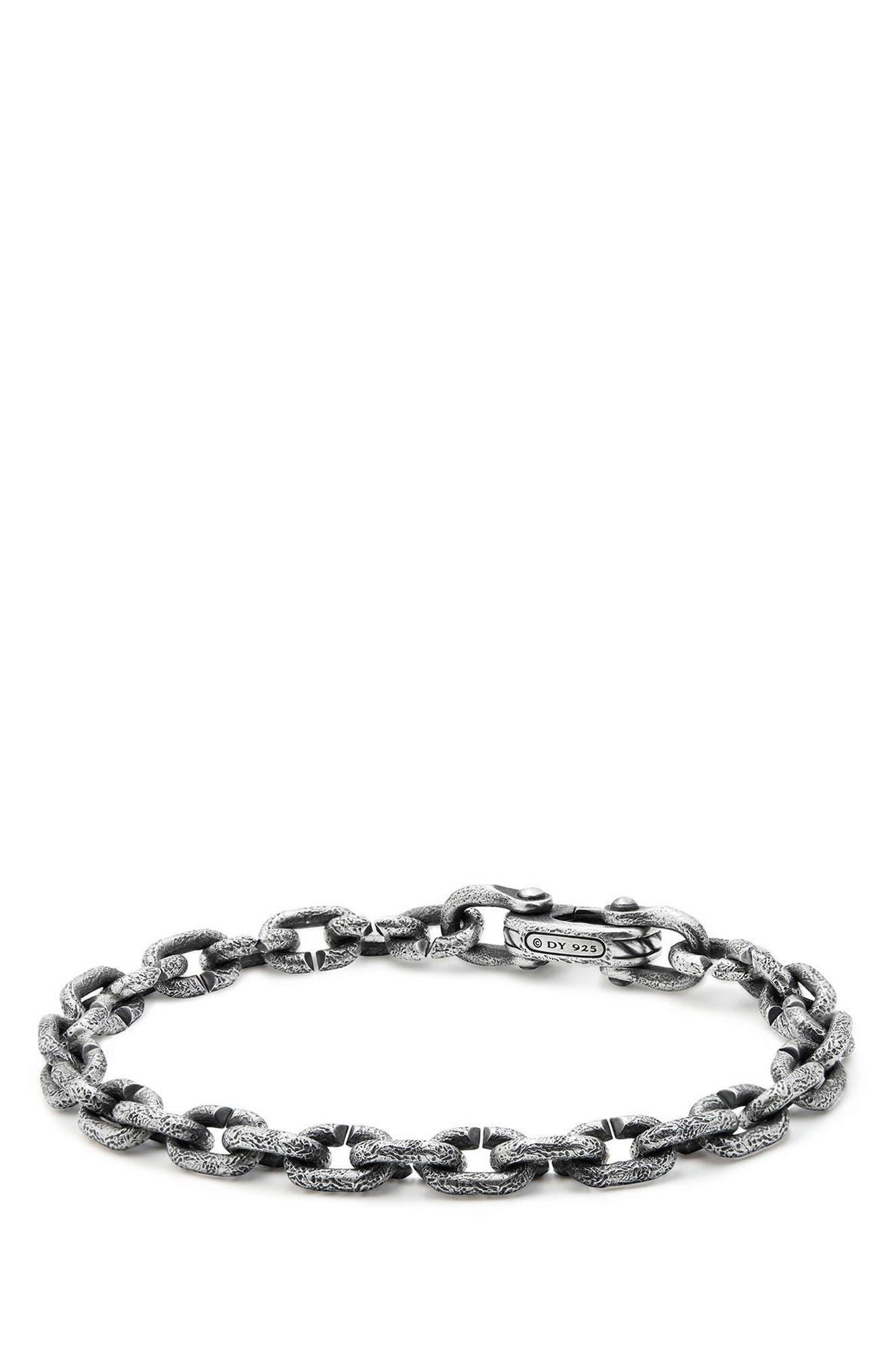 DAVID YURMAN Shipwreck Chain Bracelet, 6mm, Main, color, SILVER