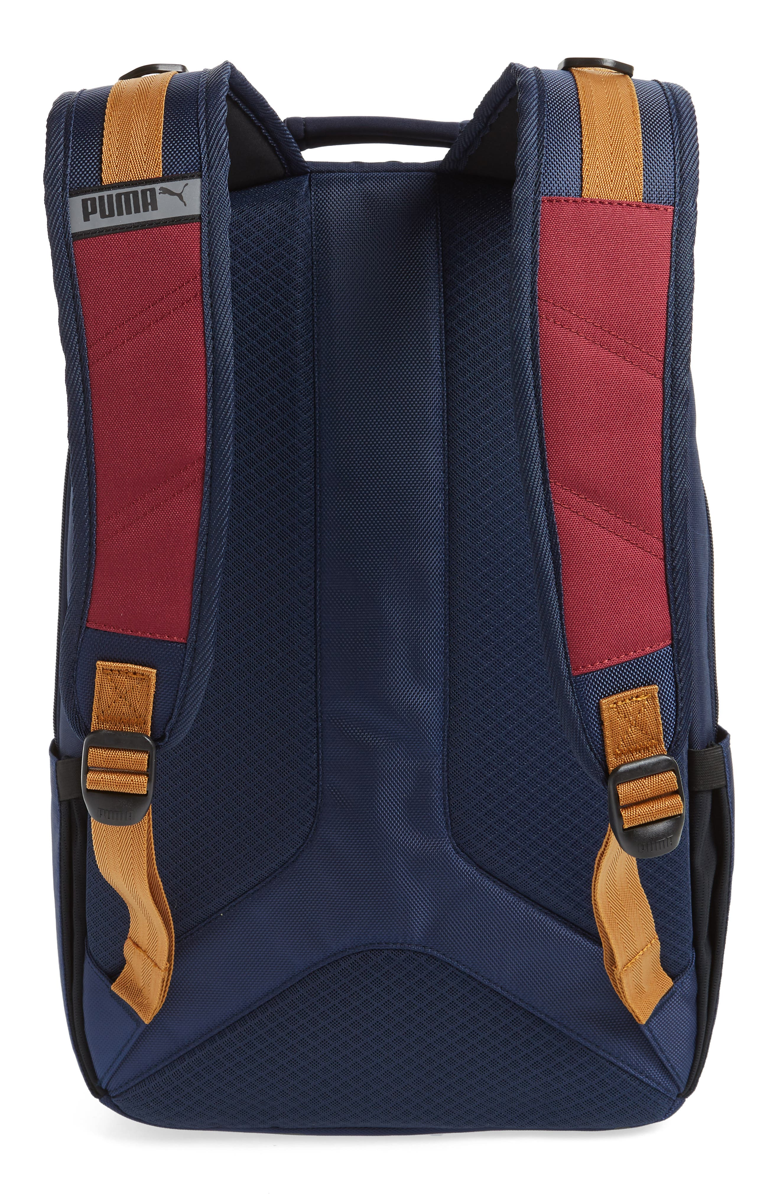 PUMA, Ready Backpack, Alternate thumbnail 3, color, 410