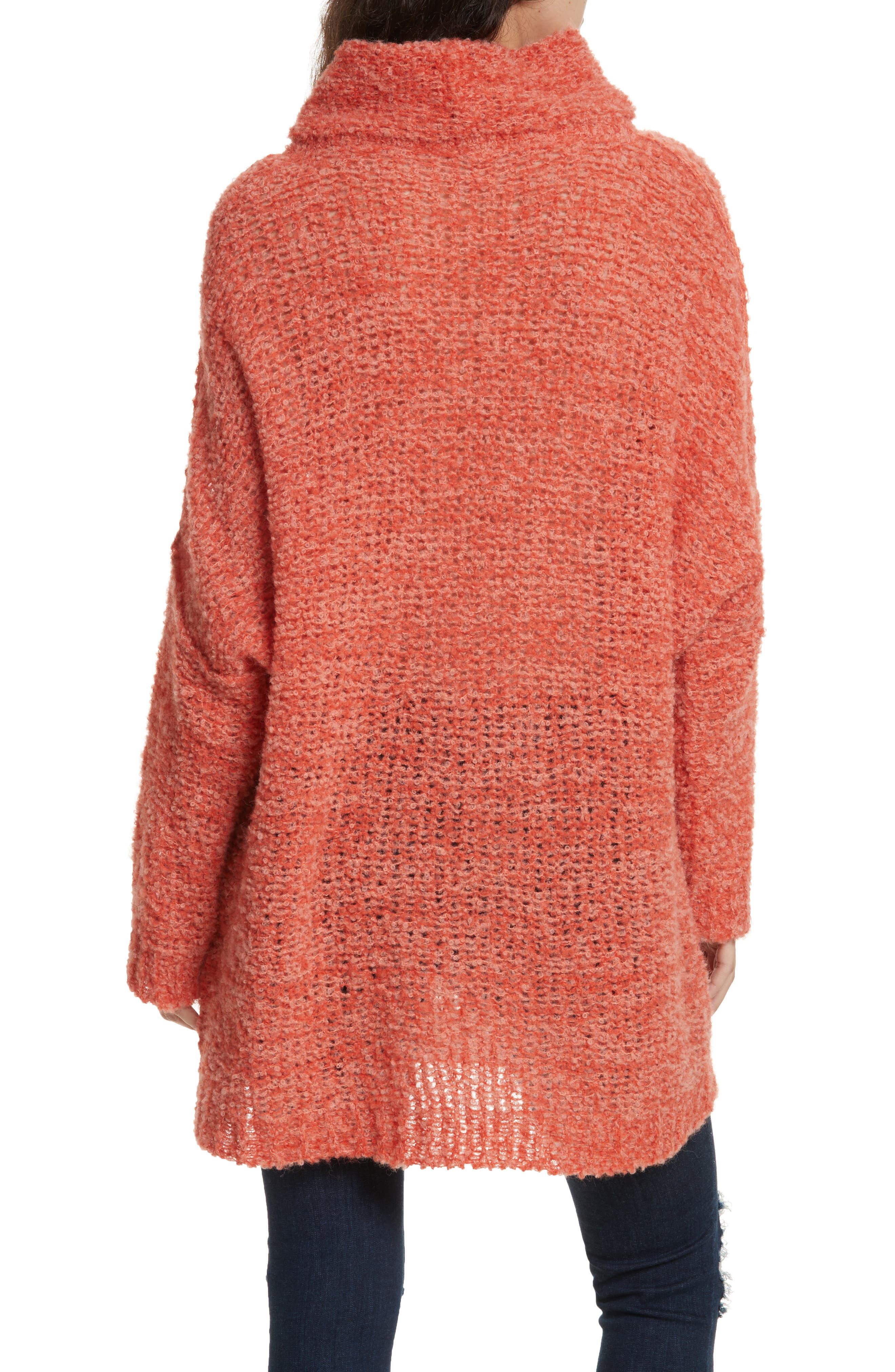 FREE PEOPLE, 'She's All That' Knit Turtleneck Sweater, Alternate thumbnail 2, color, 800