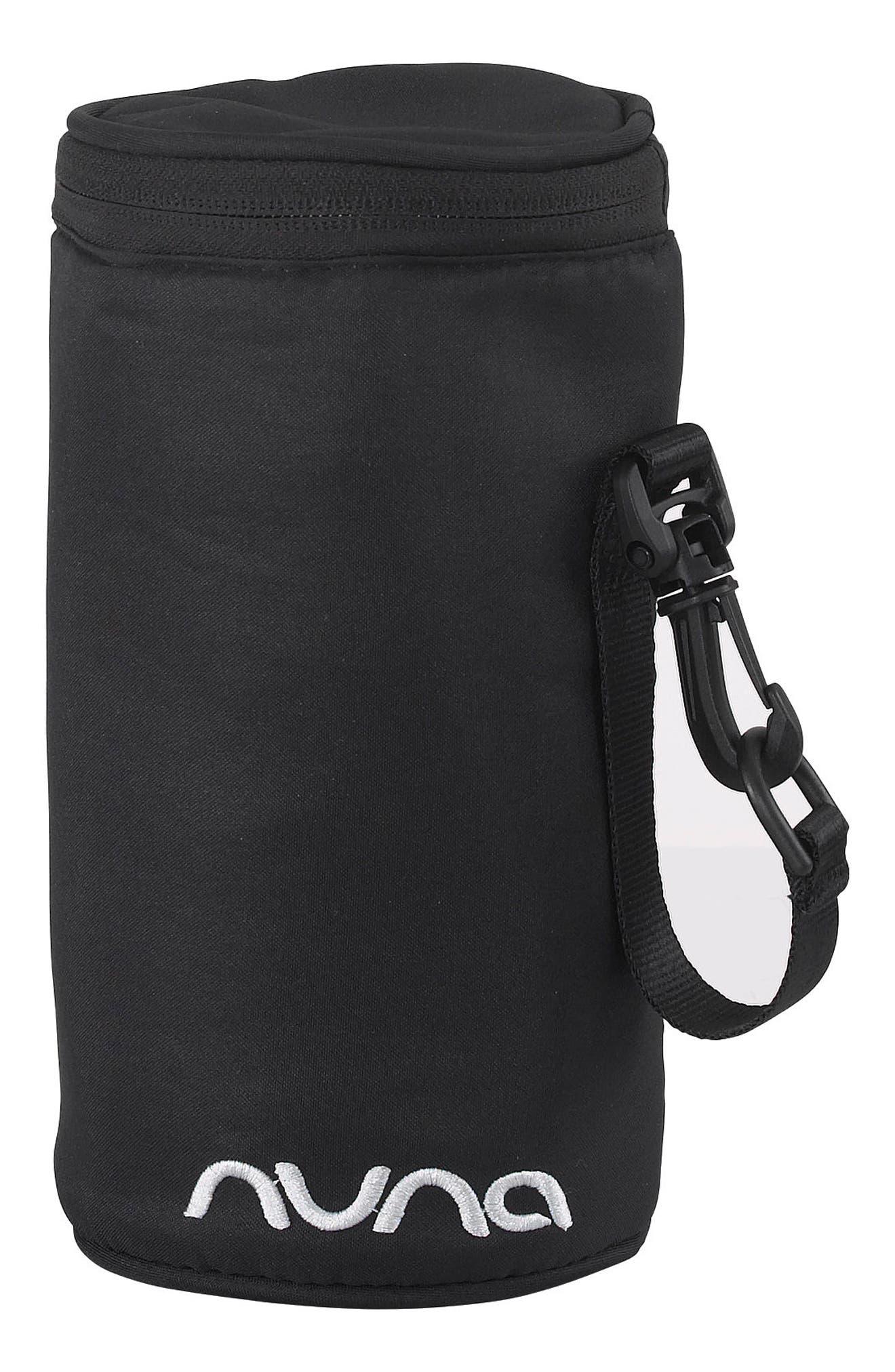 NUNA, Convertible Diaper Bag, Alternate thumbnail 5, color, CAVIAR