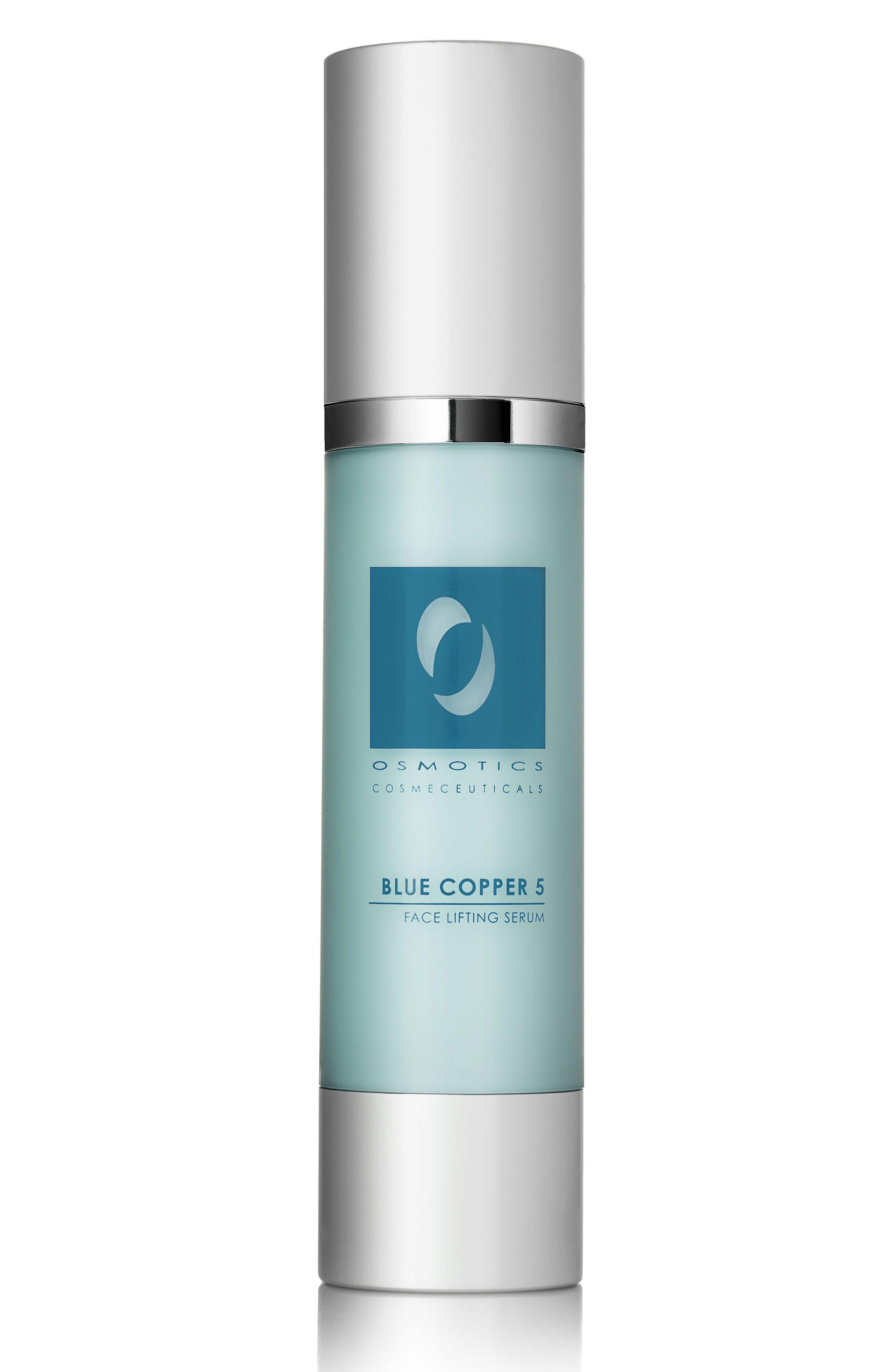 OSMOTICS COSMECEUTICALS, Blue Copper 5 Face Lifting Serum, Main thumbnail 1, color, NO COLOR
