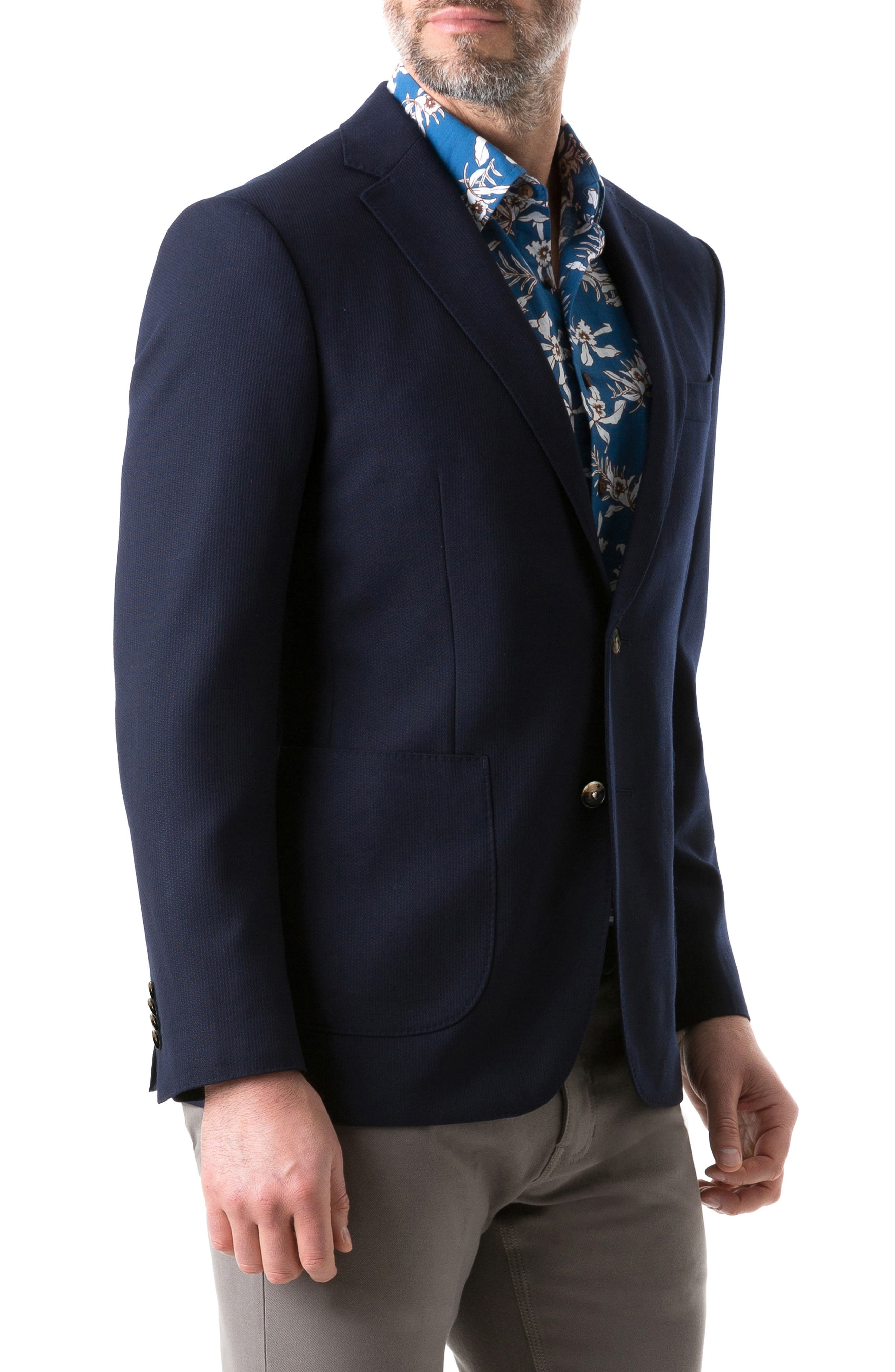 RODD & GUNN, Cotswold Regular Fit Wool Sport Coat, Alternate thumbnail 3, color, 412