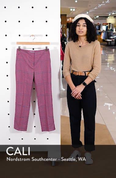 Straight Leg Plaid Pants, sales video thumbnail