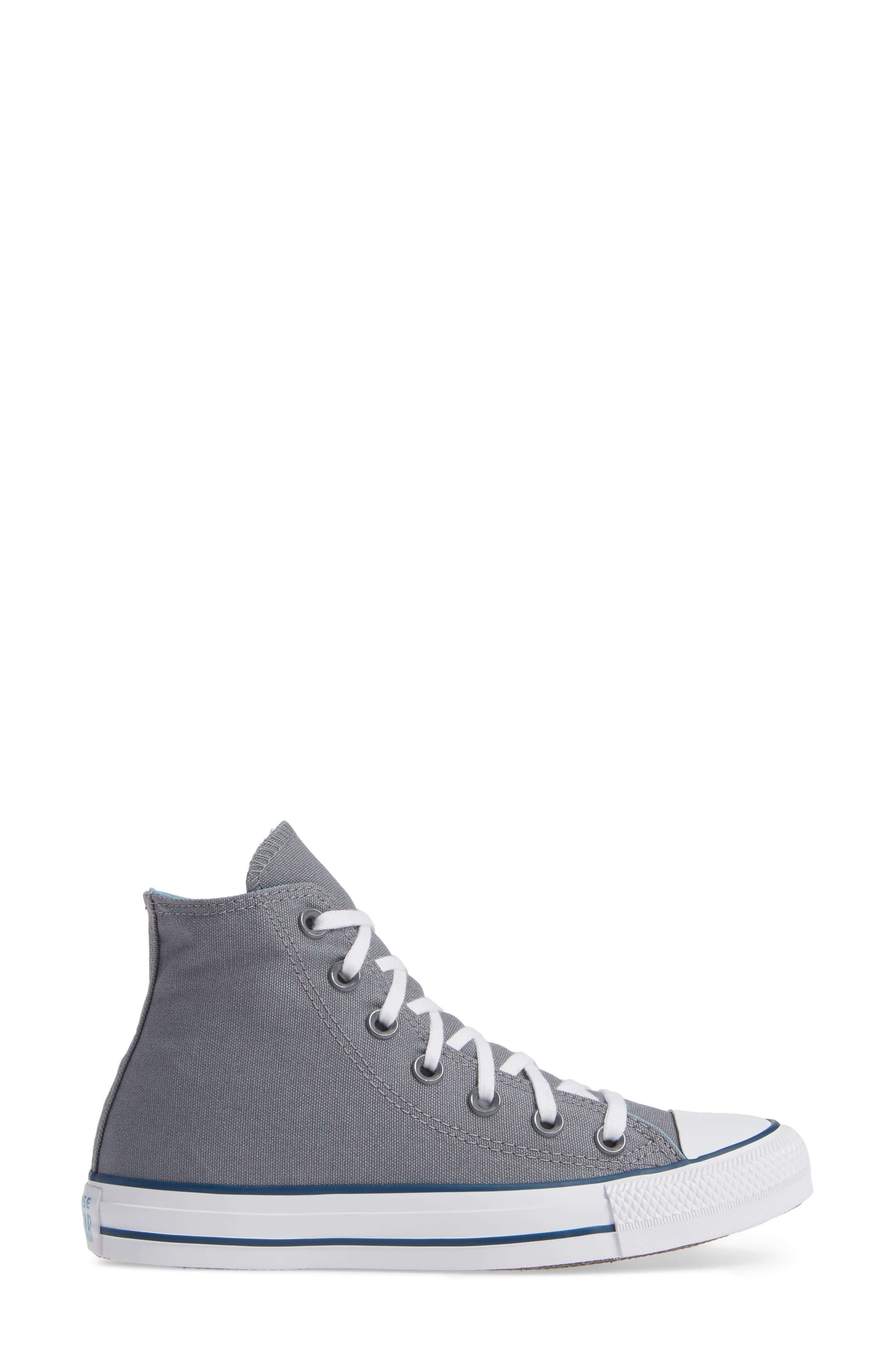 CONVERSE, Chuck Taylor<sup>®</sup> All Star<sup>®</sup> Seasonal Hi Sneaker, Alternate thumbnail 3, color, 039