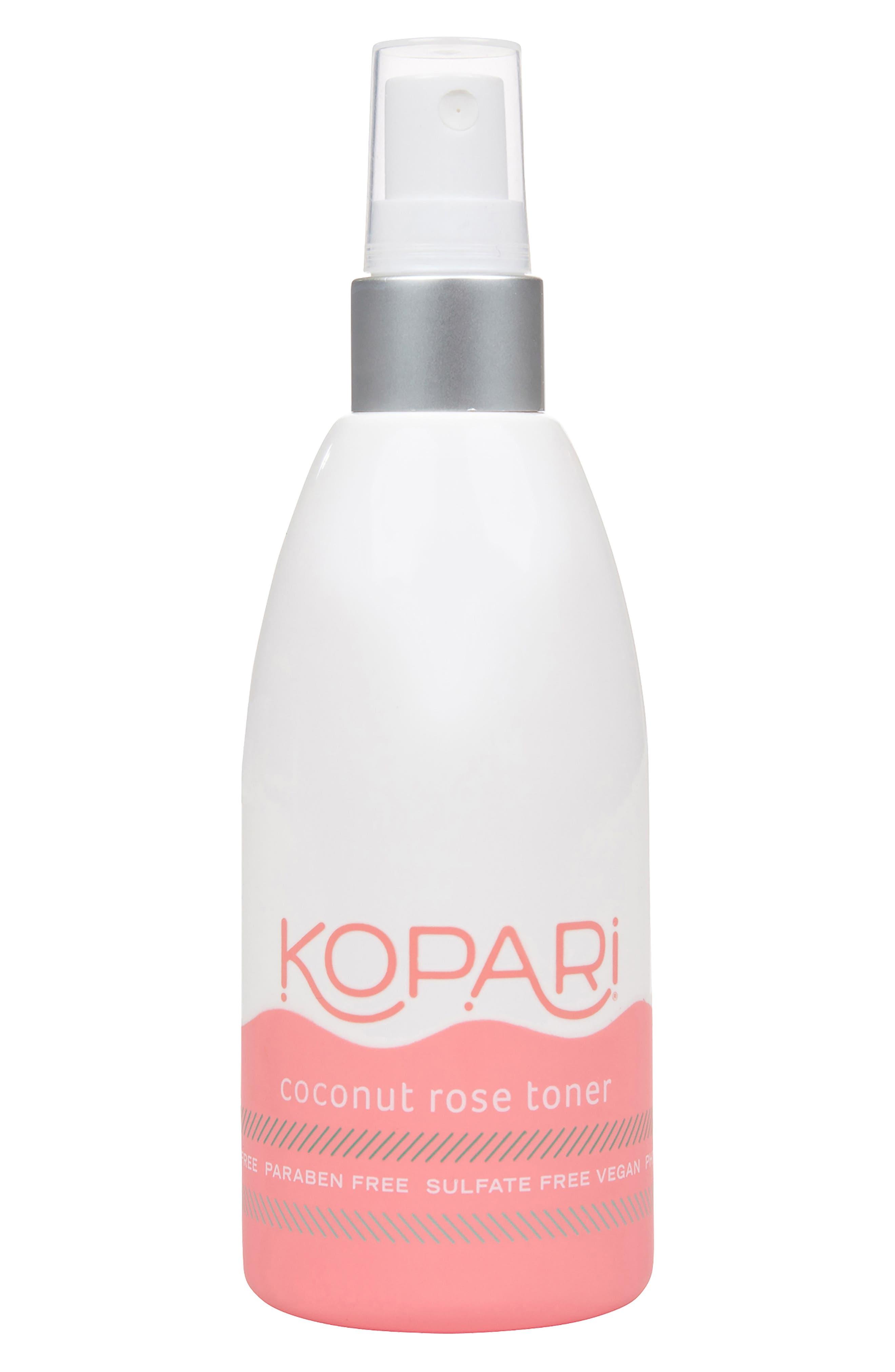 KOPARI Coconut Rose Toner, Main, color, NO COLOR
