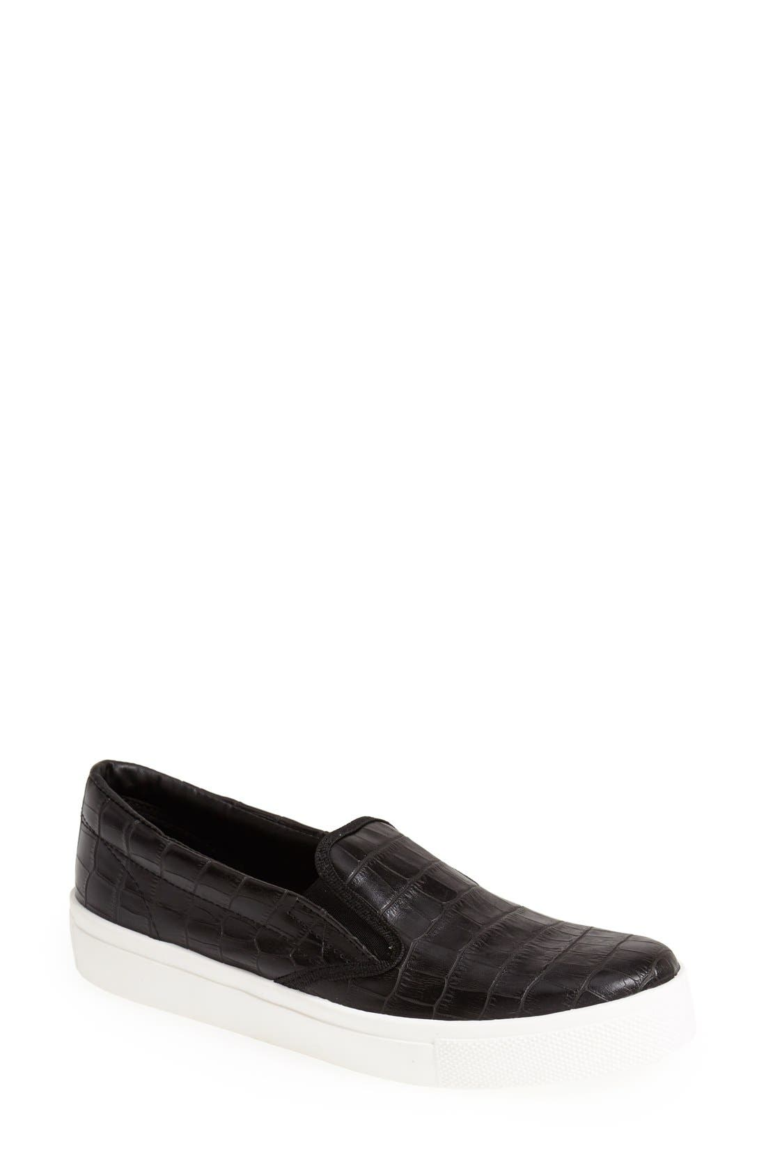TOPSHOP, 'Tipi' Slip-On, Main thumbnail 1, color, 001