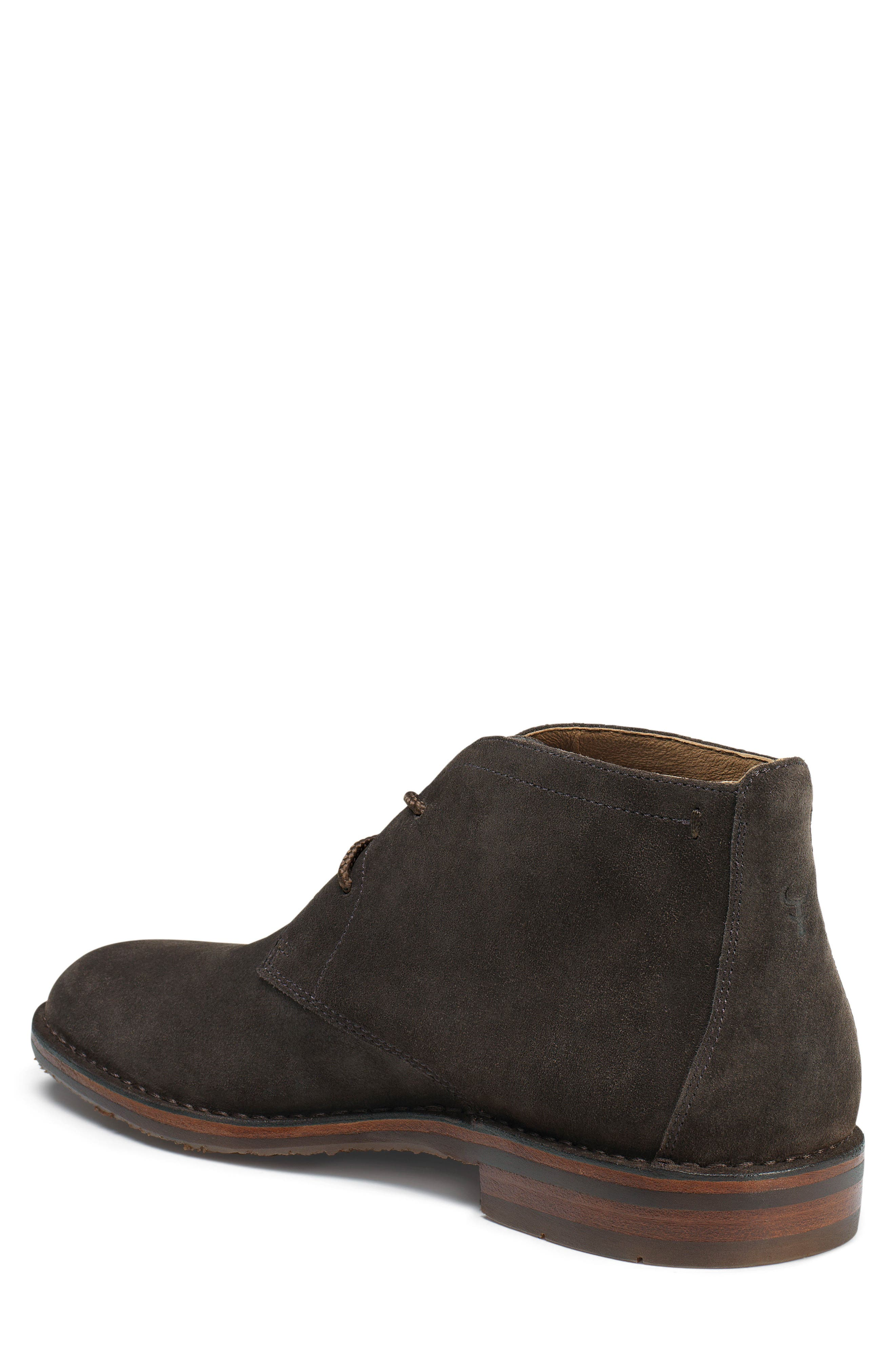 TRASK, 'Brady' Chukka Boot, Alternate thumbnail 2, color, GRAY SUEDE