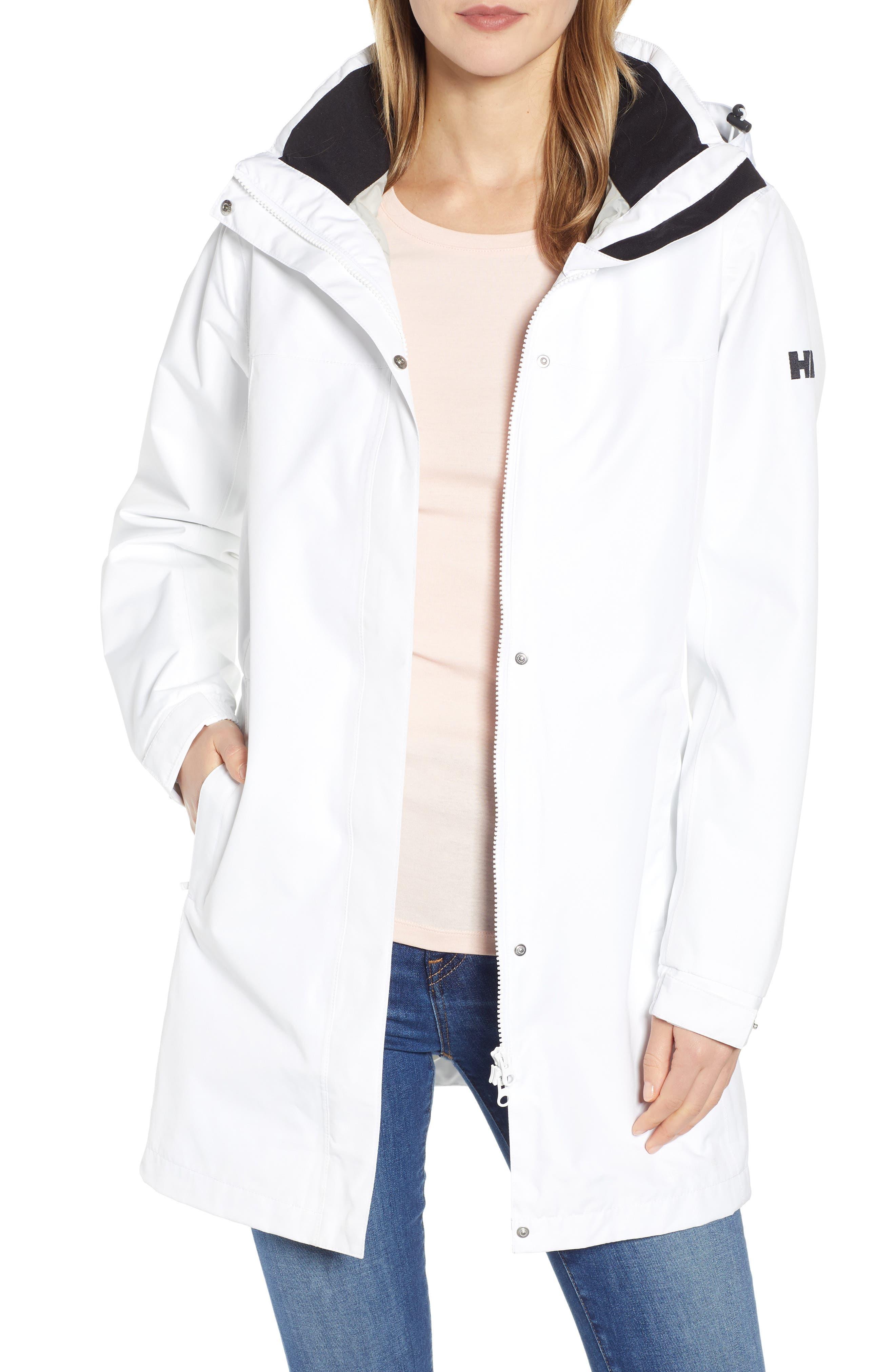 HELLY HANSEN 'Aden' Helly Tech<sup>®</sup> Raincoat, Main, color, 100