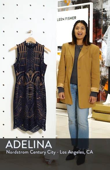 Alice Lace Body-Con Dress, sales video thumbnail