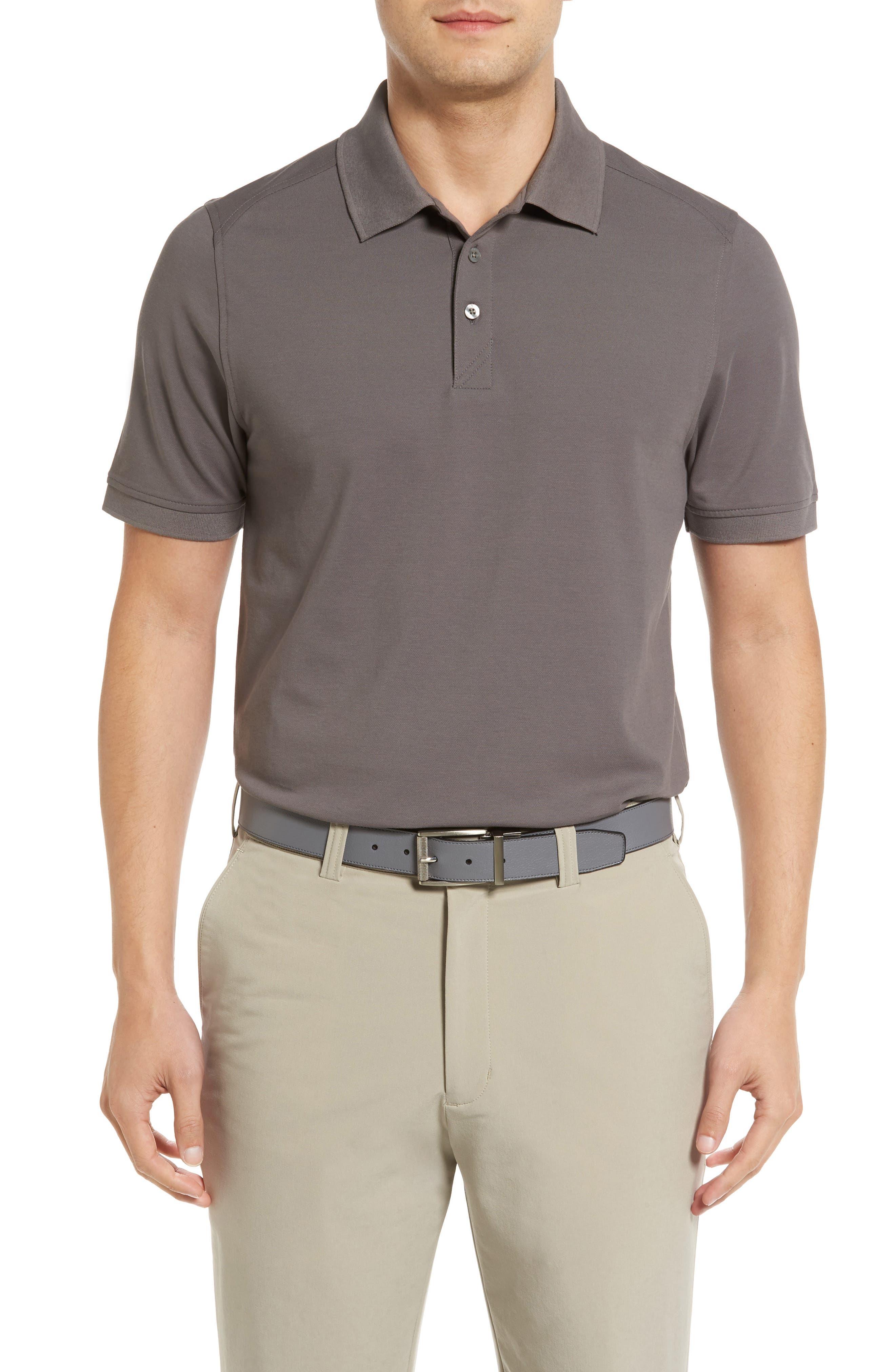 CUTTER & BUCK, Advantage Golf Polo, Main thumbnail 1, color, ELEMENTAL