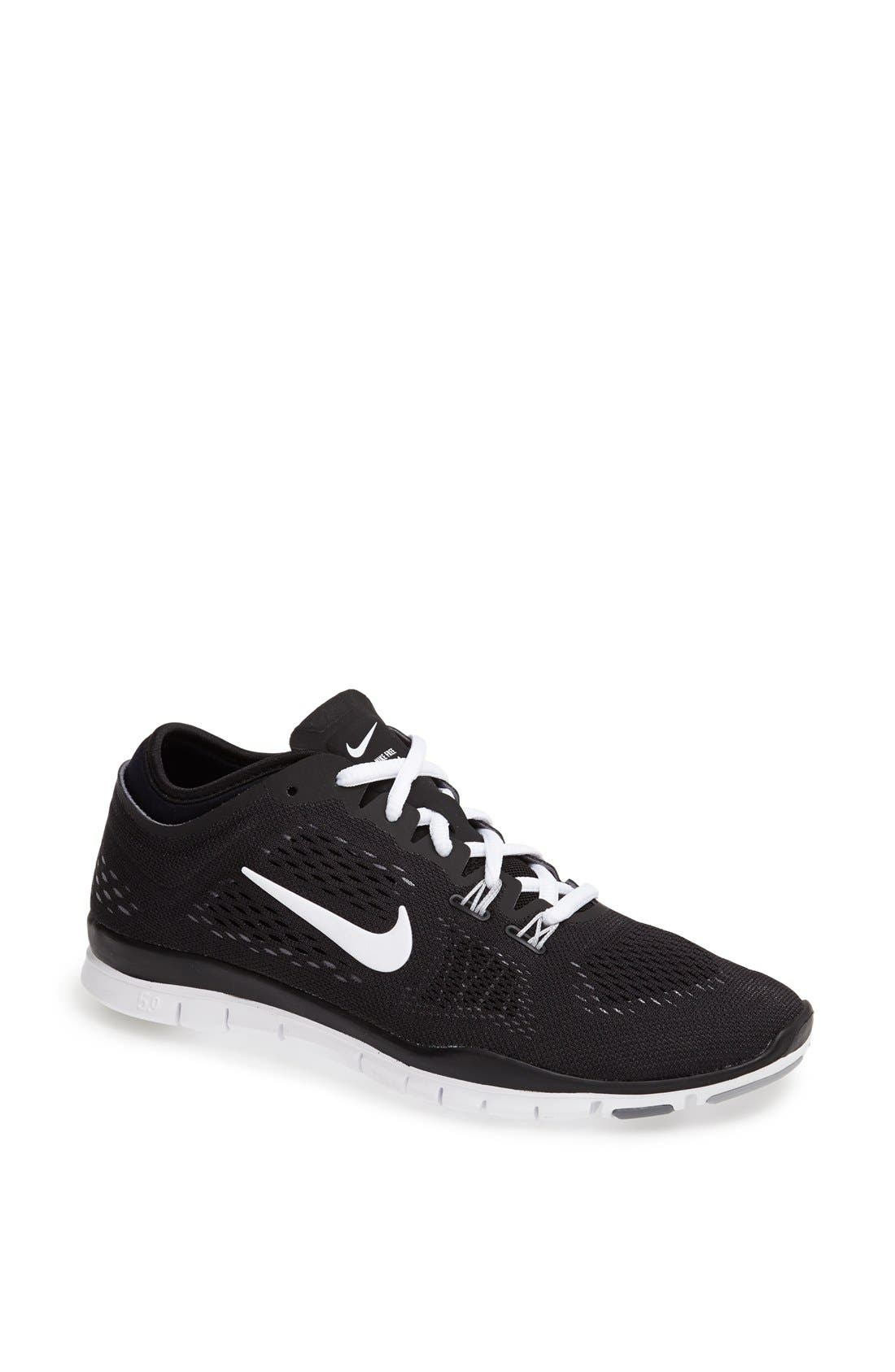 NIKE 'Free 5.0 TR Fit 4' Training Shoe, Main, color, 001