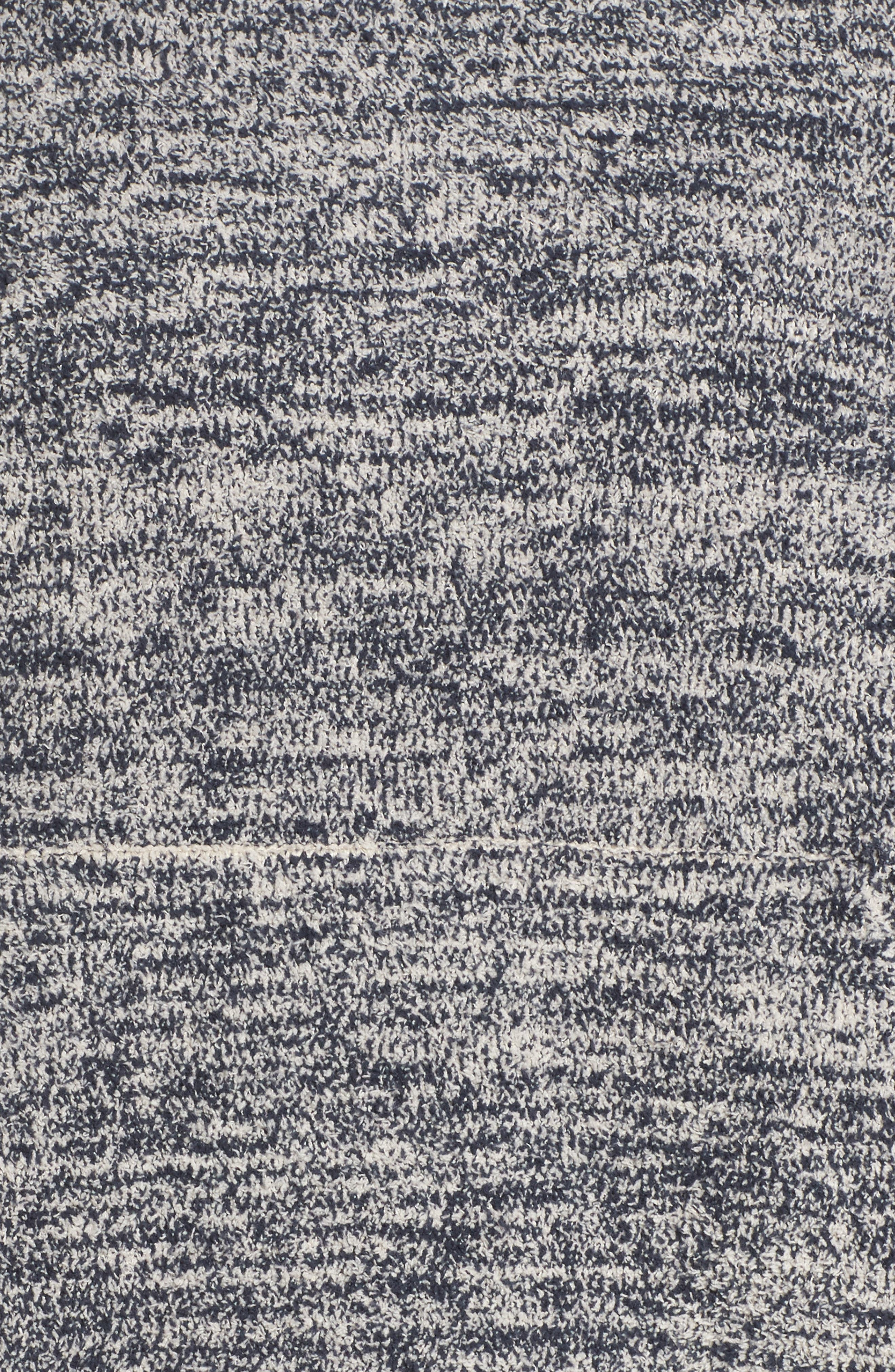 BAREFOOT DREAMS<SUP>®</SUP>, Cozychic<sup>®</sup> Lounge Pullover, Alternate thumbnail 5, color, INDIGO/ STONE HEATHERED