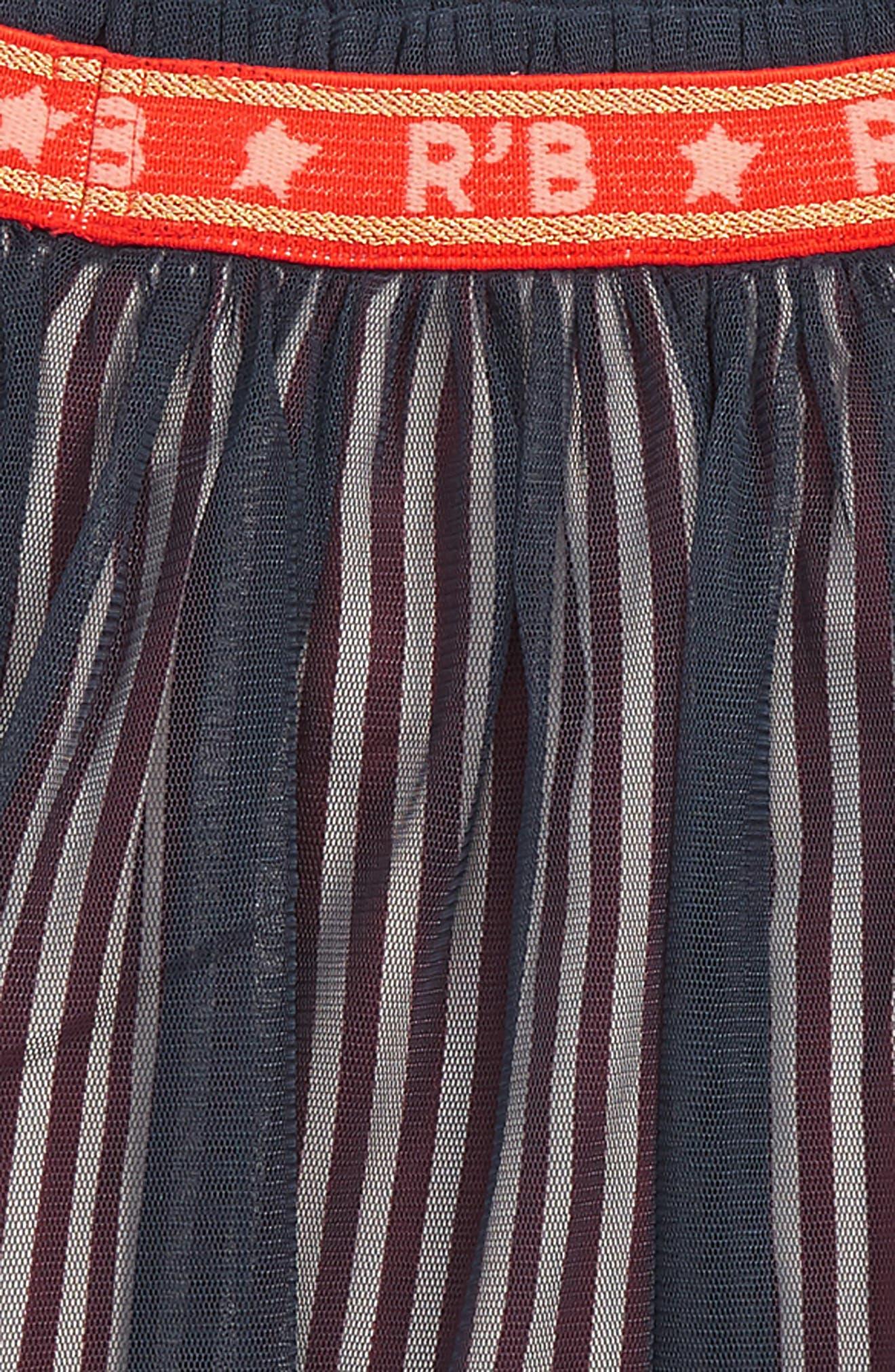 SCOTCH R'BELLE, Tulle Skirt, Alternate thumbnail 2, color, 593 N