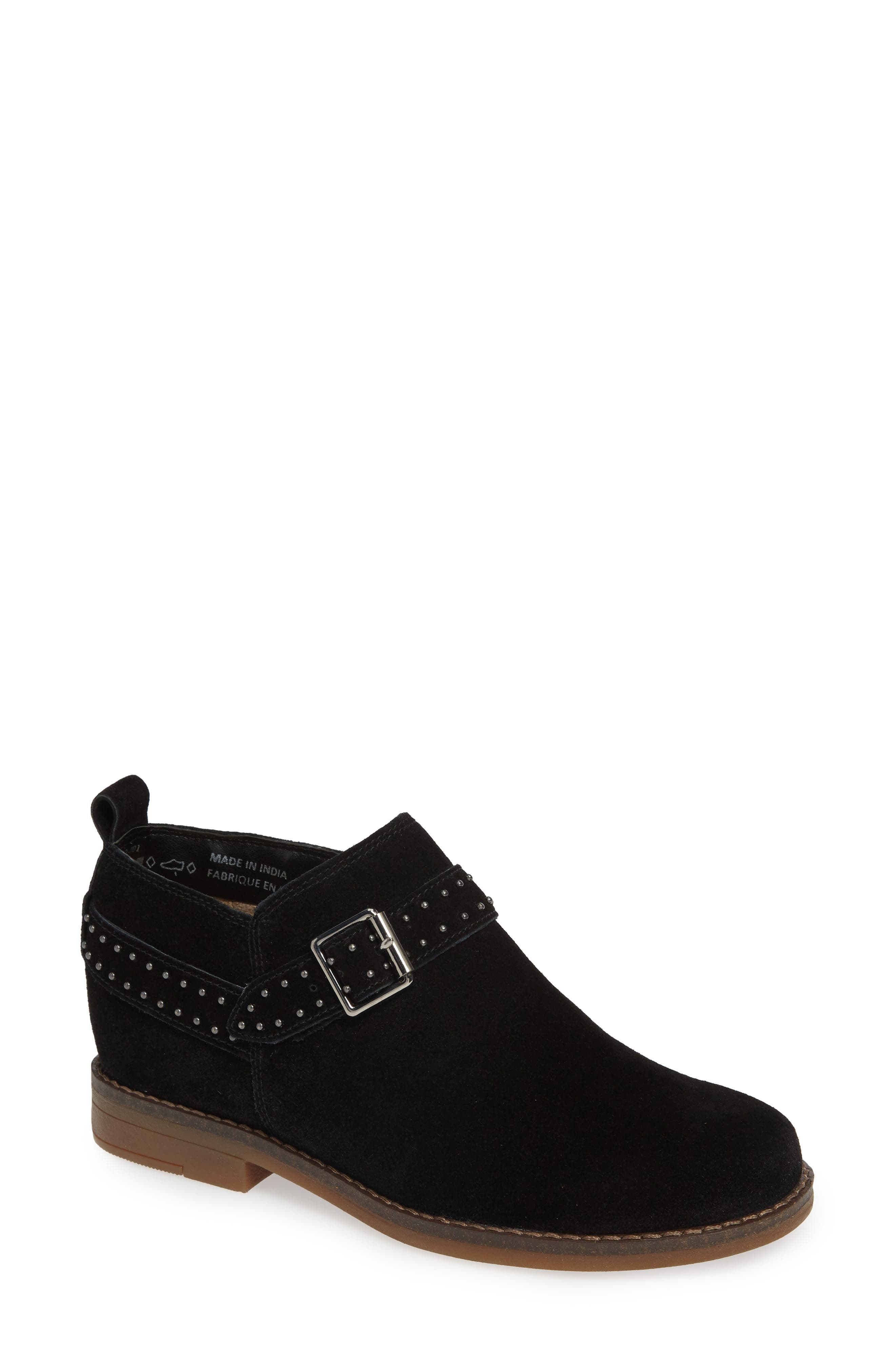 Hush Puppies Cayto Studded Belt Bootie