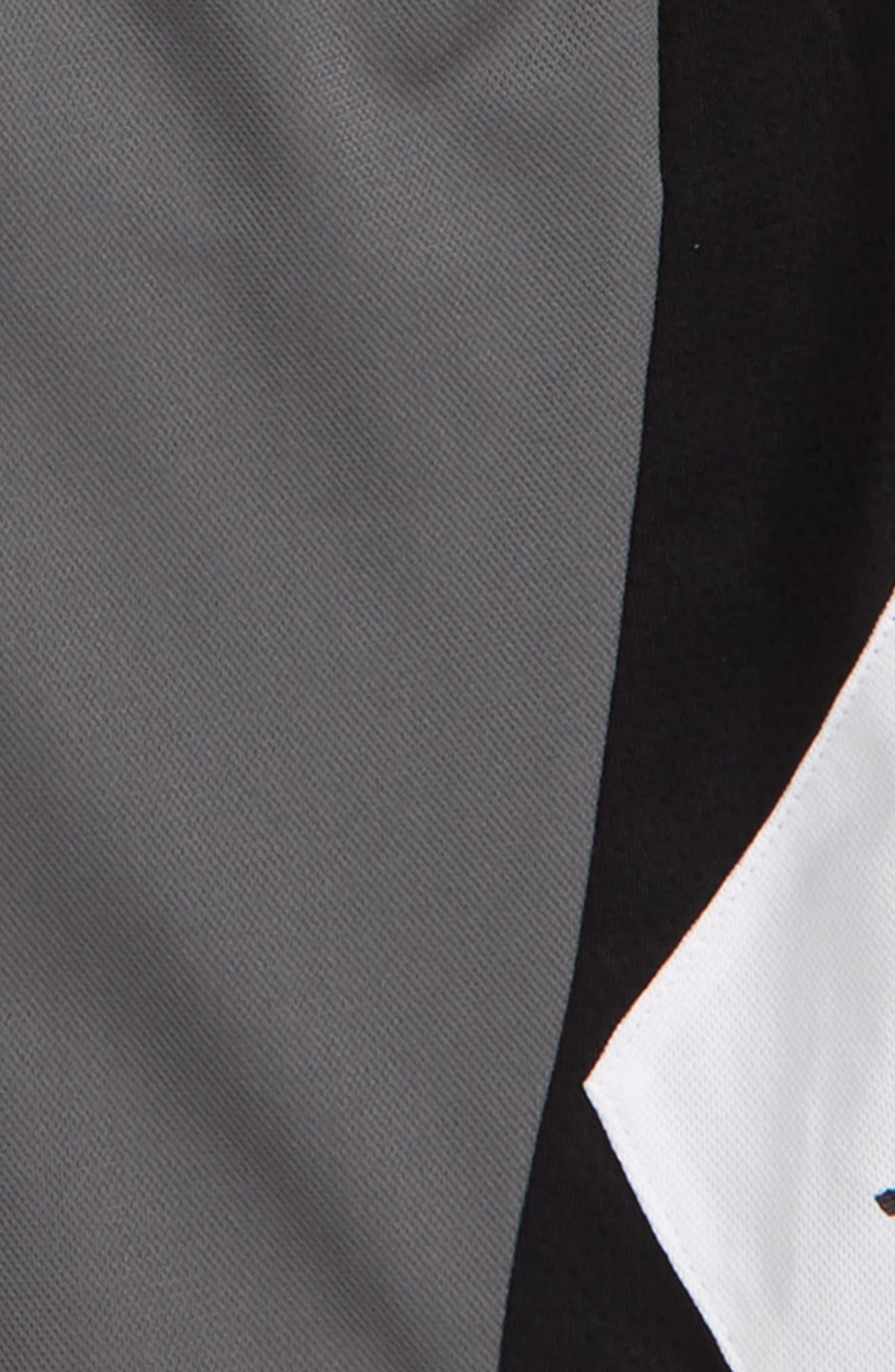 JORDAN, Authentic Triangle Shorts, Alternate thumbnail 2, color, SMOKE GREY
