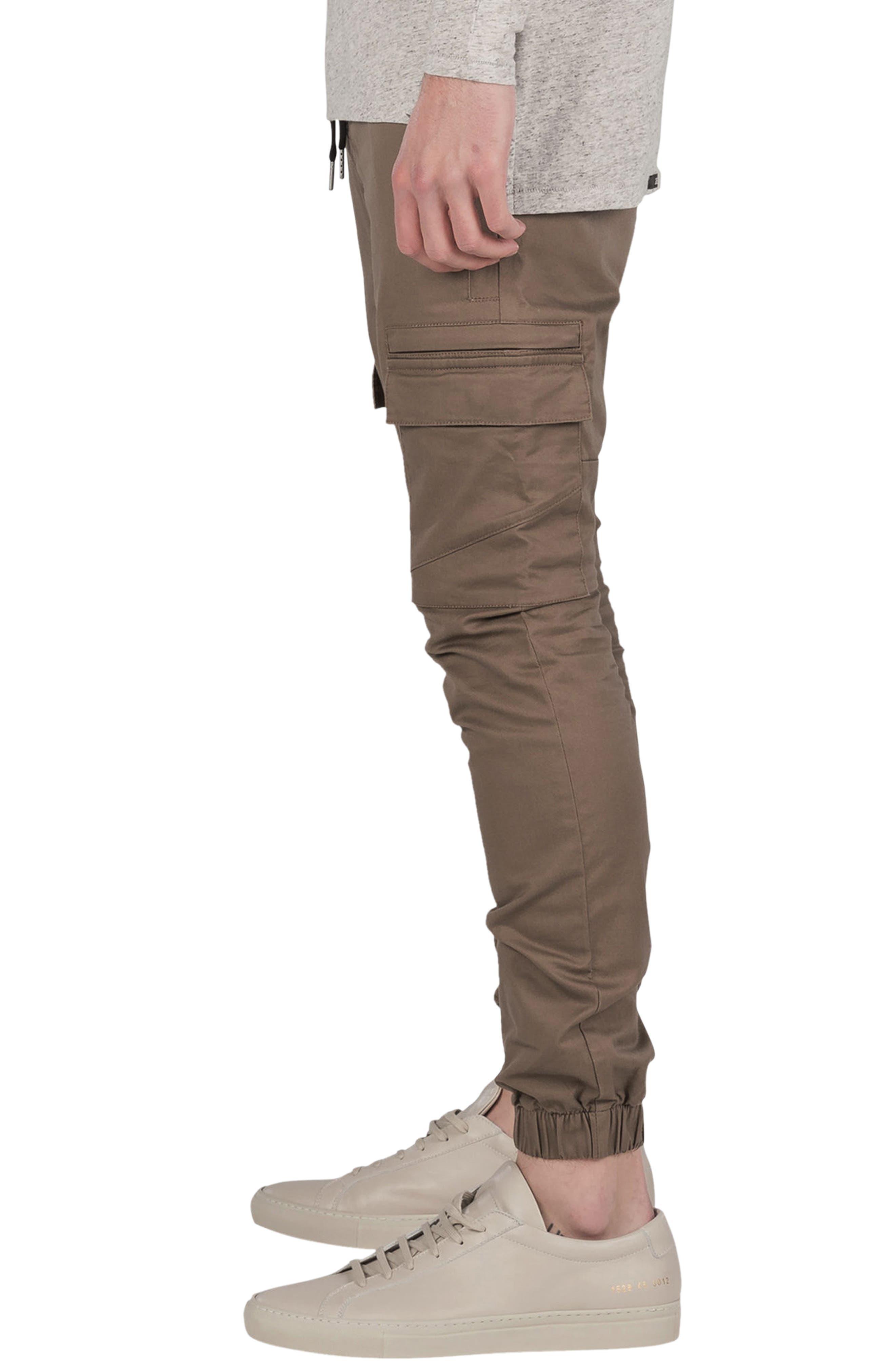 ZANEROBE, Sureshot Cargo Jogger Pants, Alternate thumbnail 3, color, TIMBER