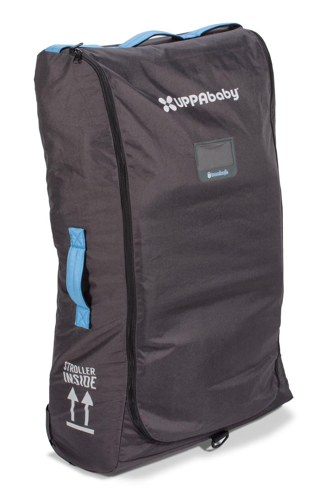 UPPABABY, VISTA TravelSafe Travel Bag, Main thumbnail 1, color, BLACK