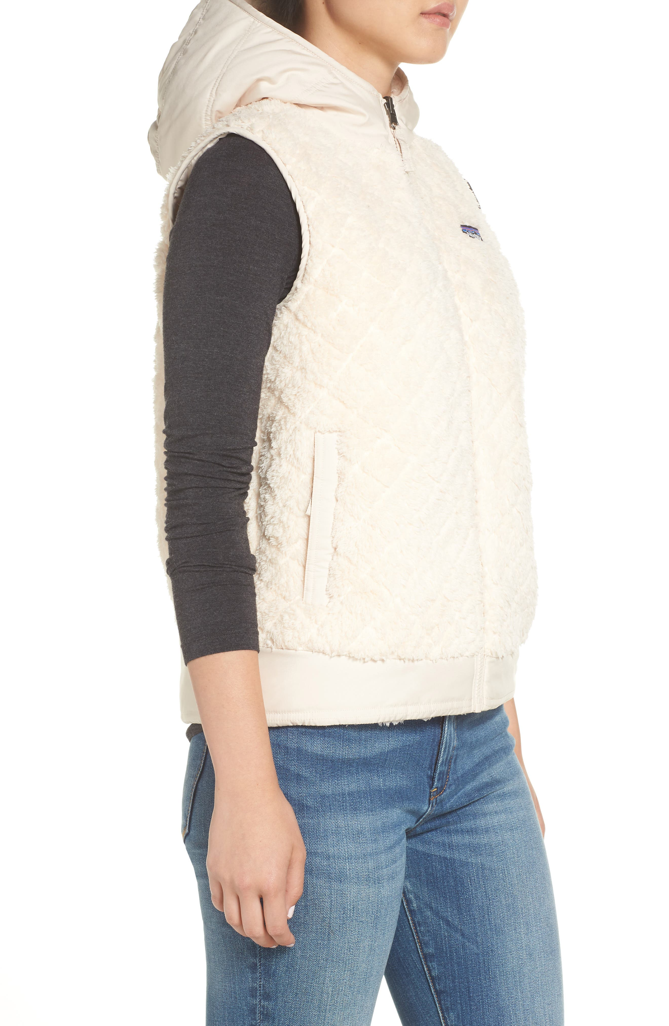 PATAGONIA, Los Gatos Reversible Vest, Alternate thumbnail 4, color, 251