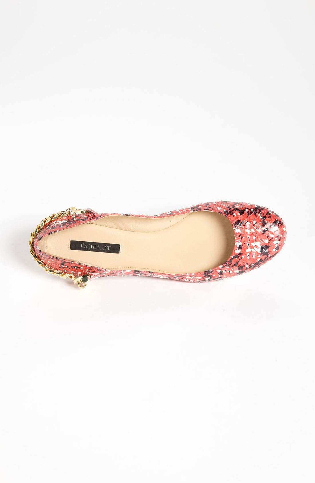 RACHEL ZOE, 'Laura' Flat, Alternate thumbnail 2, color, 600