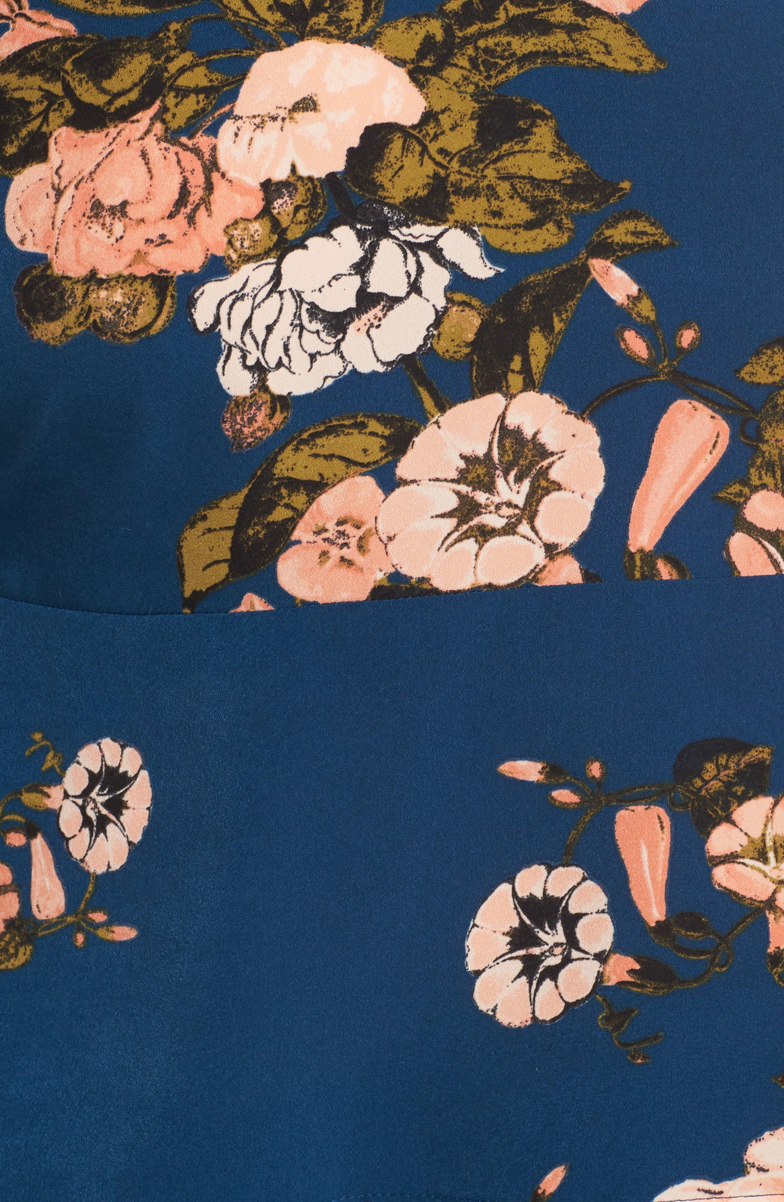 LEITH, Pleated Sleeve Blouse, Alternate thumbnail 5, color, 420