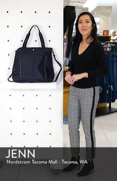 Reflective Nylon Tote Bag, sales video thumbnail