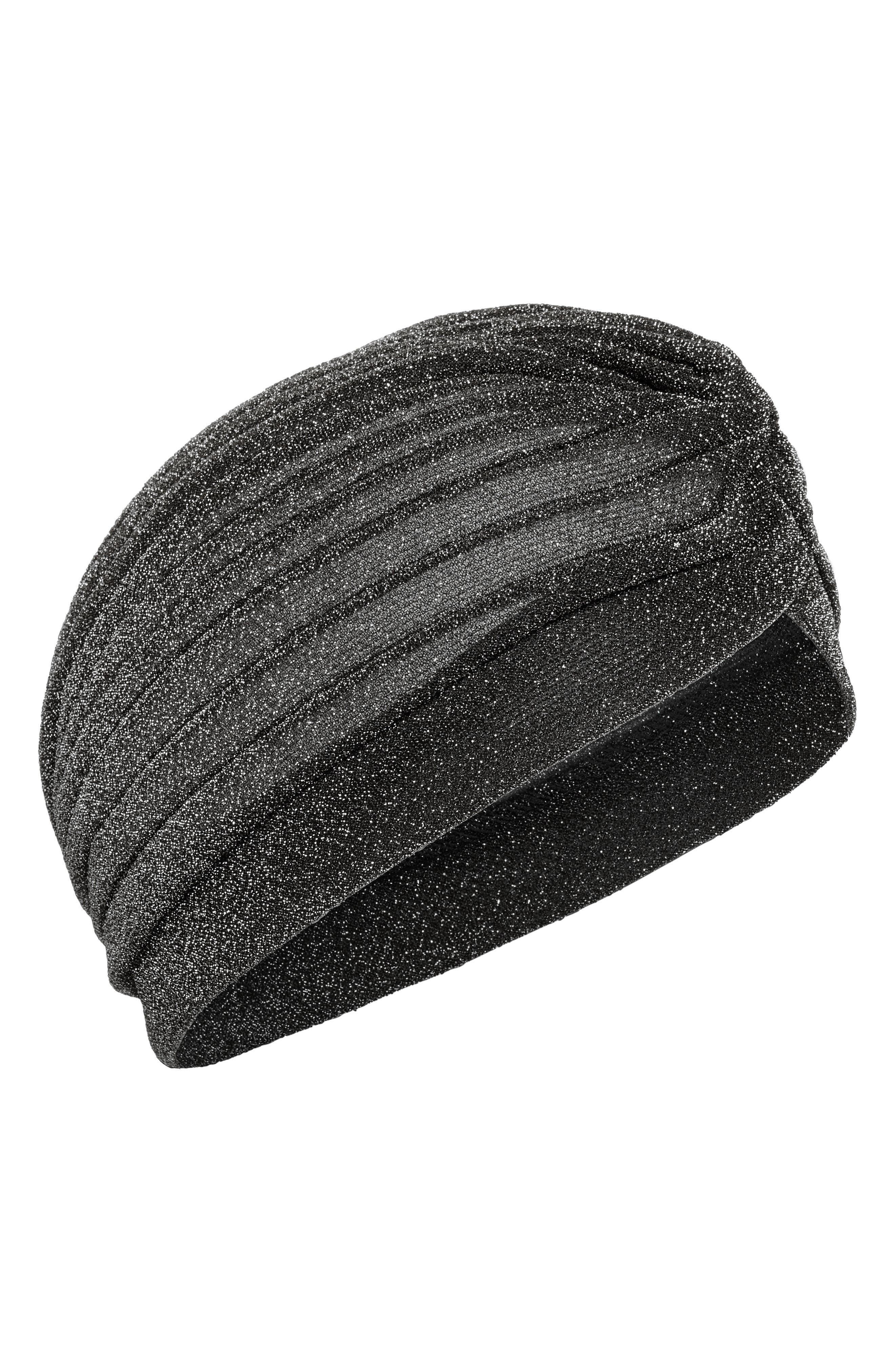 TASHA, Metallic Turban, Main thumbnail 1, color, 044
