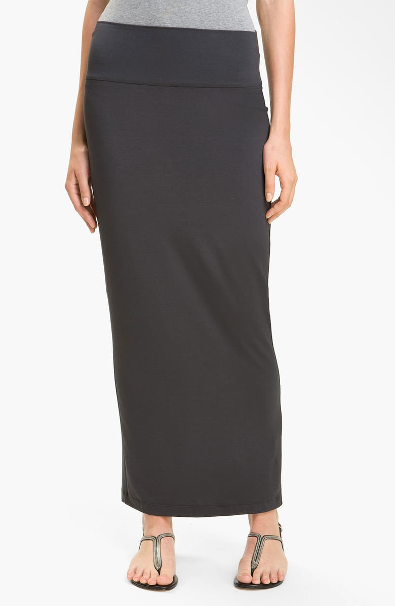 dc94470dd4a4 EILEEN FISHER Fold Over Slim Maxi Skirt, Main, color, 025
