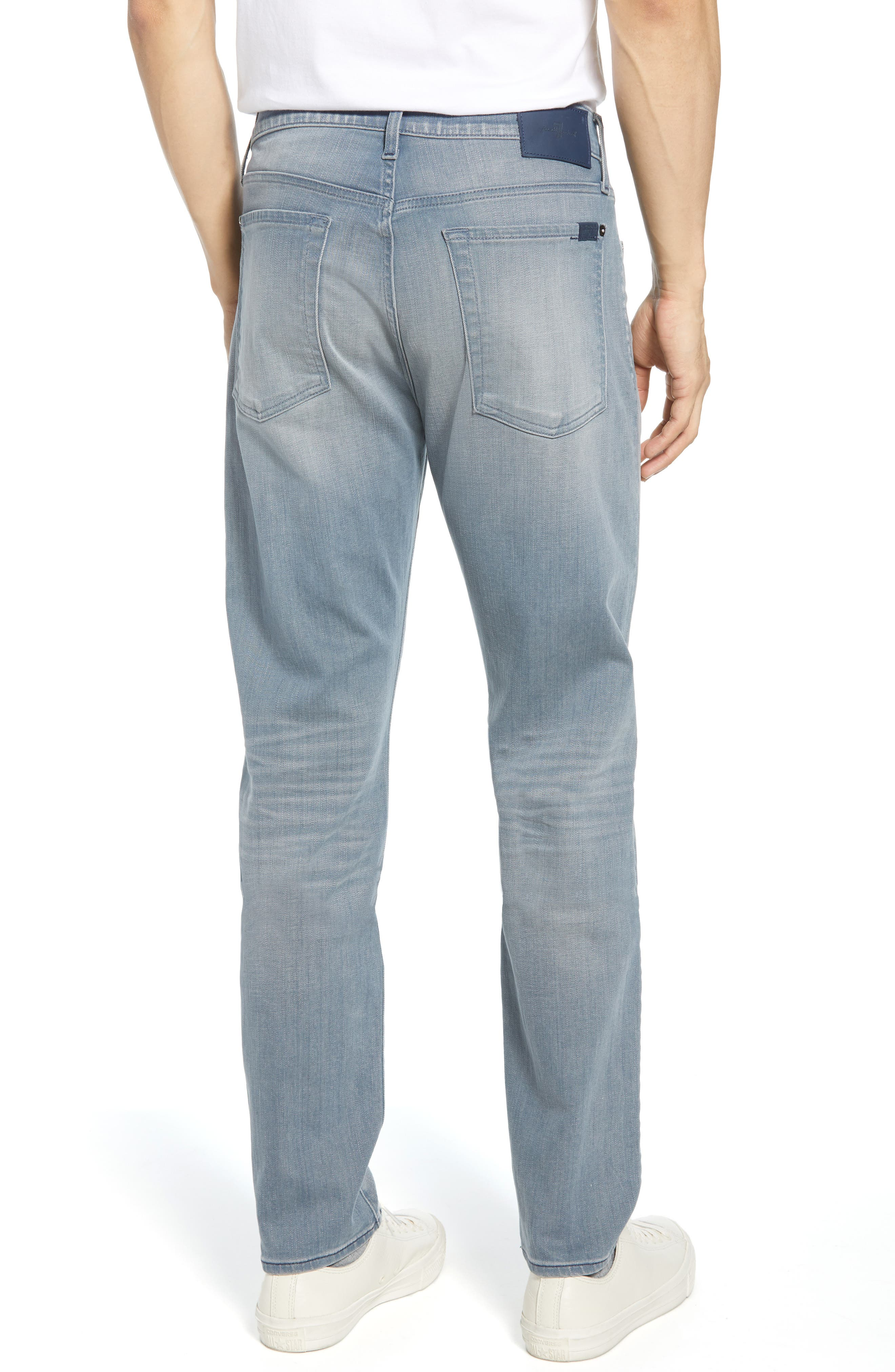 7 FOR ALL MANKIND<SUP>®</SUP>, Ryley Skinny Fit Jeans, Alternate thumbnail 2, color, AEGEAN