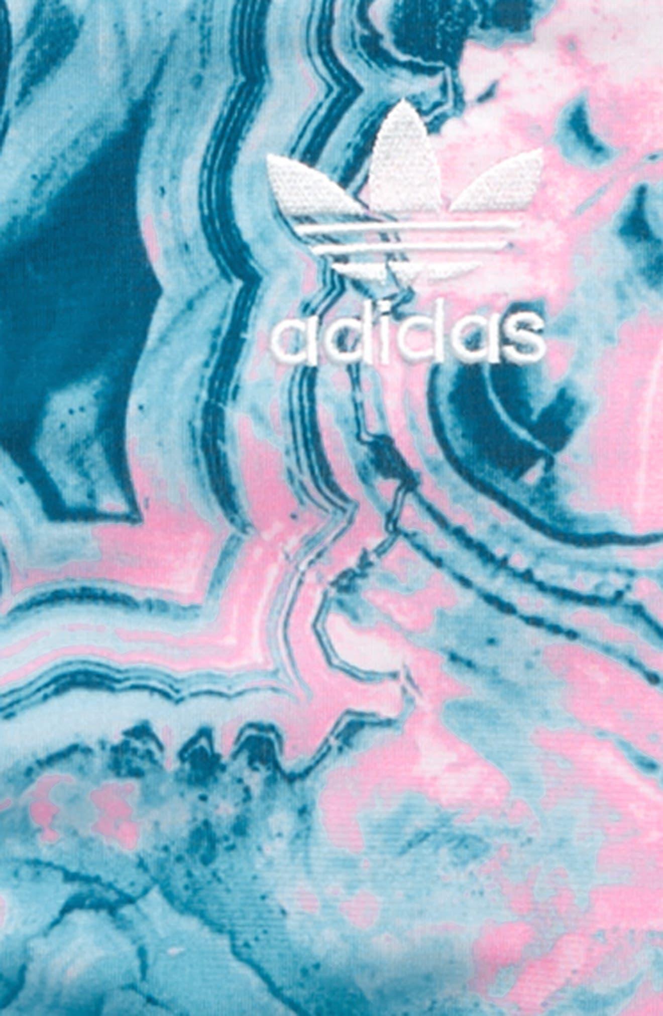 ADIDAS ORIGINALS, Zip Track Jacket, Alternate thumbnail 2, color, MULTCO/ LEGMAR/ WHITE